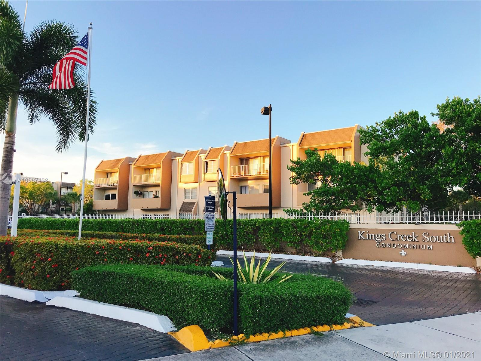Walk in to this beautiful Condo completely remodeled with porcelain flooring throughout with living area & balcony overlooking canal. It comes with 1 bedroom 1 bath, Kitchen has bran new wood cabinets and quartz countertops. New electric & plumbing throughout the apartment & Hurricane shutters. There are 2 parking spots available with decal. The building features a gym, weight room, tennis courts, clubhouse, party room, BBQ grills, jacuzzi, 2 swimming pools, common storage & 24hr security. Maintenance fee covers all amenities plus cable, security, exterior building insurance, and water/sewer. Just a short walk from Dadeland Mall & downtown Dadeland. FHA approved :).