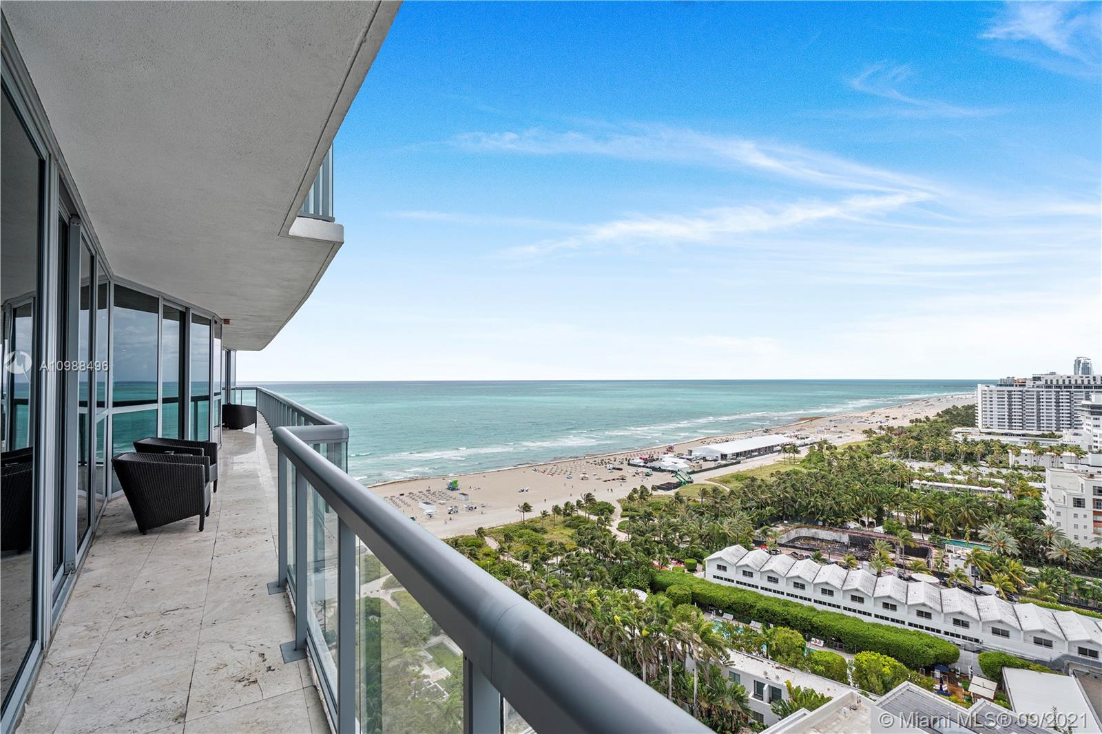 Your picture-perfect home awaits with this glorious condo set against a beautiful ocean backdrop. The Setai residential tower is adjacent to one of the most pristine hotels in all of Miami Beach, The Setai. This condo, has only the most sophisticated finishes and features that there are to ensure a home that is grand in scale yet subtle in its opulence. The spacious floor plan stretches over multiple rooms for every mood and occasion whether you are gathering in the living room or taking in the breathtaking views over the ocean and city. This unique open kitchen comes complete with its beautiful wood features and sweeping stone countertops paired with a suite of high-end appliances.