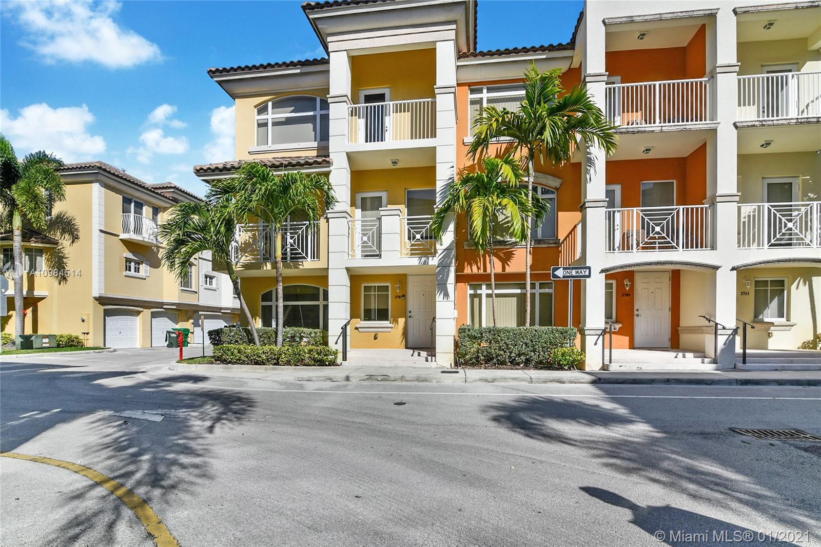 """GORGEOUS TRI-LEVEL TOWNHOUSE IN GATED AND SAFE COMMUNITY """"TERZETTO""""IN AVENTURA. ON THE FIRST FLOOR YOUR DEN AND A FULL SIZED TWO- CAR GARAGE, SECOND FLOOR FIND A GREAT OPEN LAYOUT WITH A WHITE LARGE FORMAT PORCELANATO FLOORING THROUGHOUT, LIVING ROOM , KITCHEN WITH ALL MODERN STAINLESS STEEL APPLIANCES WITH CUSTOM MADE PANTRY, BREAKFAST AREA, HALF BATHROOM AND A PRIVATE OPEN BALCONY!. THE THIRD FLOOR WITH BEAUTIFUL VINYL MEDIUM BROWN WOOD COLOR FLOORING, MASTER BEDROOM WITH MASTER BATHROOM AND CUSTOM WALK IN CLOSET PLUS 2 BEDROOMS WITH CUSTOM CLOSETS AND A BATHROOM. COMMUNITY HAS SWIMMING POOL , RECREATION AREA , GUEST PARKING AND GYM. AWESOME LOCATION  JUST AROUND THE CORNER FROM AMAZING RESTAURANTS, SHOPPING , AMAZING SCHOOLS  AND SUNNY ISLES BEACHES."""