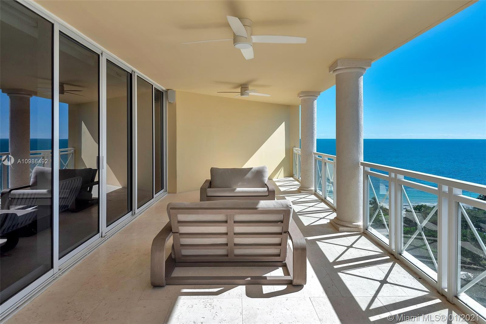 Move right into this beautifully completely updated 3/4.5 flow through high floor unit at Grand Bay Tower. This unit features the highest quality materials throughout.  New kitchen with top of the line appliances including Sub Zero and Viking. Surround system throughout the apartment with Lutron LED lights and remote shades.  Unit has white washed wood flooring throughout with marble bathrooms. All the electrical, plumbing, and AC systems have been redone. Soundproofing has also been added to the bedroom walls for extra privacy. This unit has  Bay, Ocean, and City Views. Now includes a lobby level guest/staff suite.
