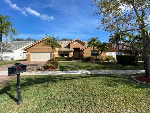Beautiful home in desirable Spring Valley community. 5 Ton AC-2012. Roof-2006. Kitchen remodeled-2019 with soft close cabinets and high end appliances. Heated (Hayward) saltwater pool with two stage, Pentair pool pump-2019. Pool resurfaced-2017. Pool pump and light can be remotely