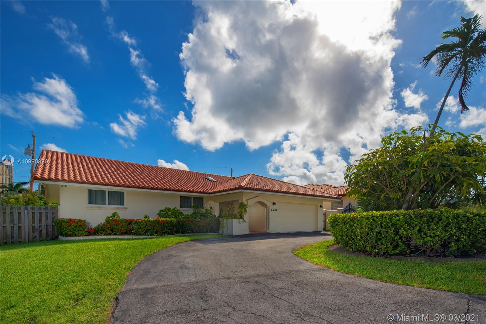 Come fall in love with this FULLY REMODELED single-family home in the heart of Sunny Isles Beach.  This house boasts a new kitchen with modern European finishes, using eco-friendly materials. All new appliances. New flooring. New bathrooms. Spacious home with 3 bedrooms and 2.5 bathrooms. Impact windows and doors throughout.  New roof in 2018. 2 car garage. Smart home control system, smart house lighting w/ Iotty Smart Switch, new washer/dryer, new water heater. 2 AC systems. Perfect home for a family looking for a safe and friendly neighborhood. A+ rated School District.  Walking distance to beaches, playground, shops, restaurants, houses of worship. Minutes to Aventura Mall, Bal Harbour Shoppes, 2 international airports.