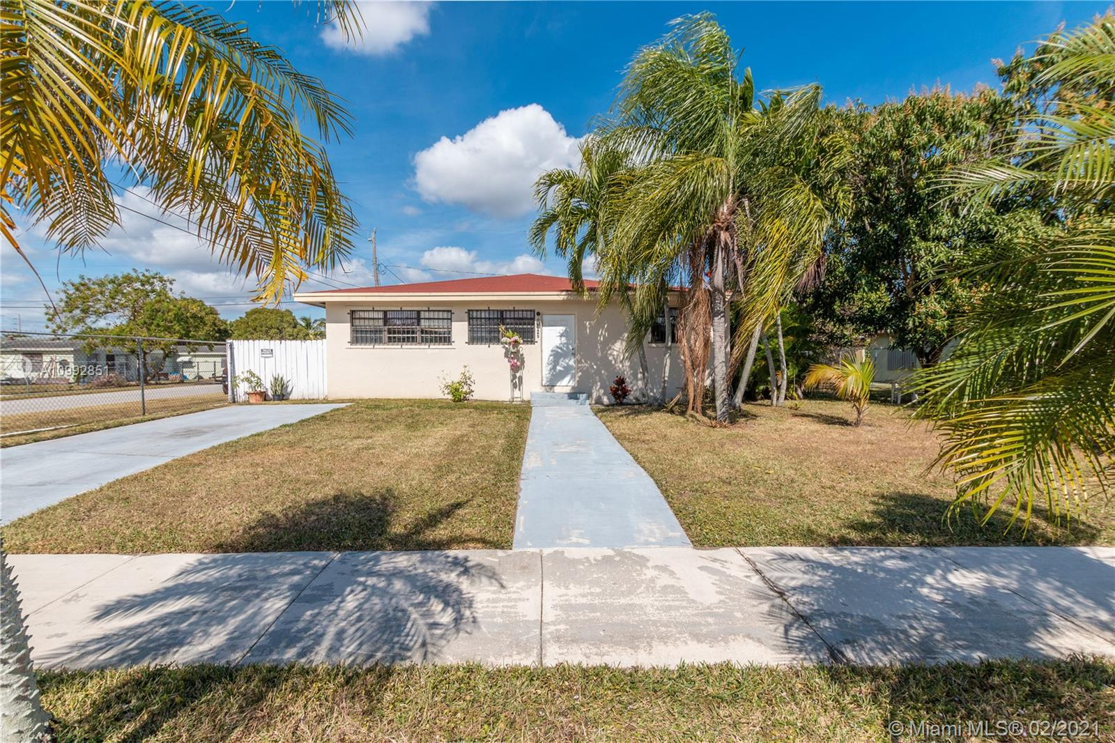 Come see this beautiful 3 bedroom and 2 bathroom home nestled in the heart of Miami. This completely tiled home has an updated kitchen with SS appliances and updated bathrooms to compliment as well. The large backyard features beautiful and mature mango trees and even has enough room for a pool. Perfect for any family or investor and minutes from the turnpike.