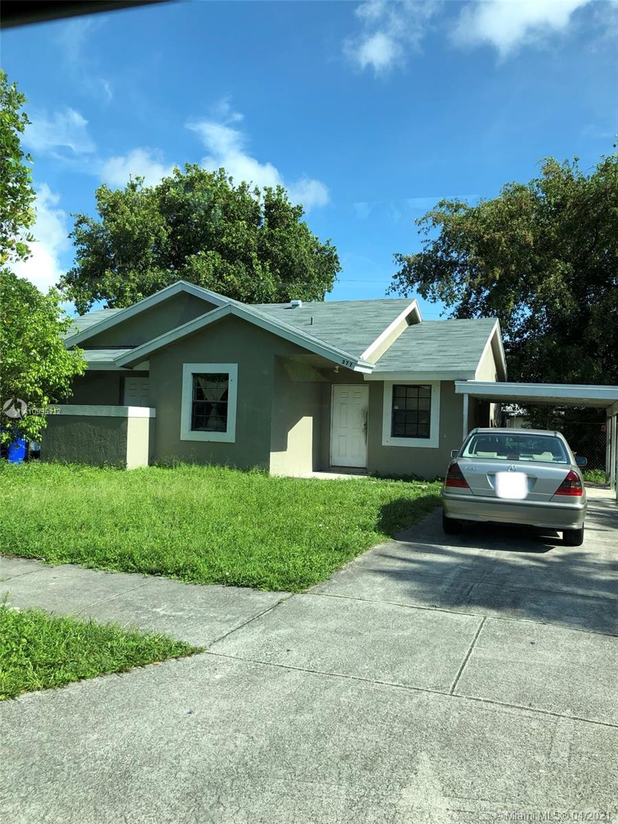 Don't miss this full of potential 3/2 + Den  concrete home with a large yard in Deerfield Beach. This amazing Gem is rare to find. All that is missing is your furniture and clothes. A few minutes to the ocean and the Deerfield Beach Fishing Peer which is surrounded with fine dining and night life (coming back soon). New roof 2018, New AC  2019,Remodeled bathrooms in 2014. Property is tenant occupied (eviction process).SHOWINS COMING SOON!!.