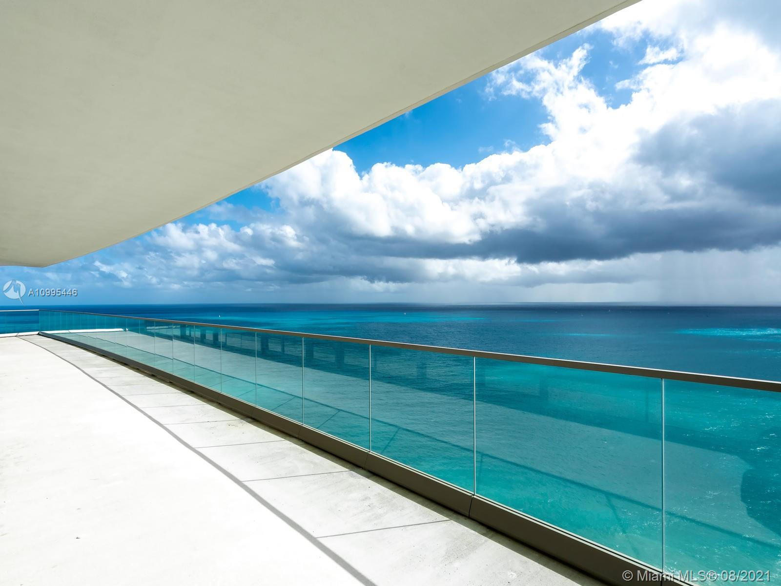The new Residences by Armani Casa is Sunny Isles Beach's most coveted and prestigious beachfront building. This unique and spacious FULLY FINISHED 4 bedroom, 5 and a half bathroom residence on a high floor with its wraparound balcony and floor to ceiling windows offers the most magnificent panoramic views of the Ocean and the City sunrise to sunset. Italian porcelain floors, electric blinds, fully finished closets and lighting.  Live the resort lifestyle with unparalleled service that includes an oceanfront pool and bar, restaurant, spa and fitness center, large lobby and lounge bar, cigar and wine room, children's play area, concierge, security, and valet.