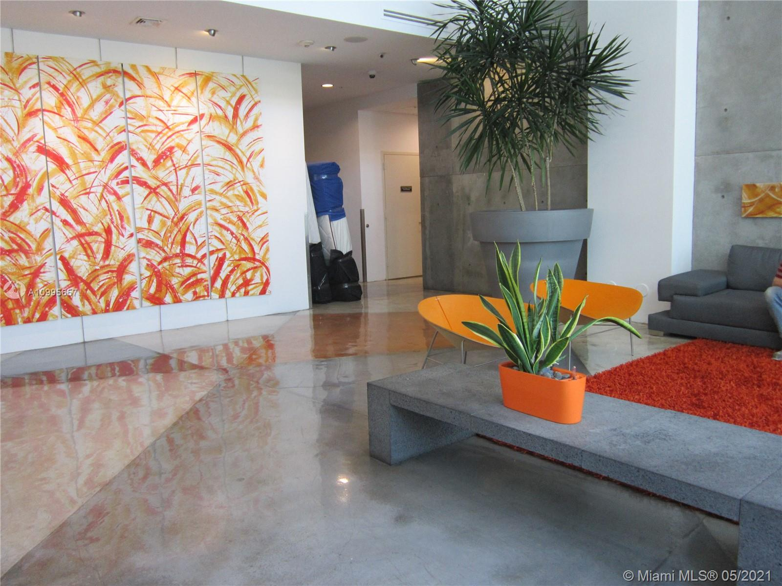 Amazing 1/1 loft-style, very modern kitchen, SS appliances, W/D in the unit, huge walk-in closet. Building offers security 24/7, pool, gym, sauna, and recreational room. Walking distance to Metro Mover, Miami Dade College, AA arena, Bayside, and downtown. A few minutes to Brickell shops & restaurants, South Beach, Coral Gables, Coconut Grove and Airport. One covered parking is available at ½ block from the building, at no additional cost. Desirable area for an investor, unit has always been rented and the location is impeccable. LOWEST PRICED UNIT IN THE BUILDING!!