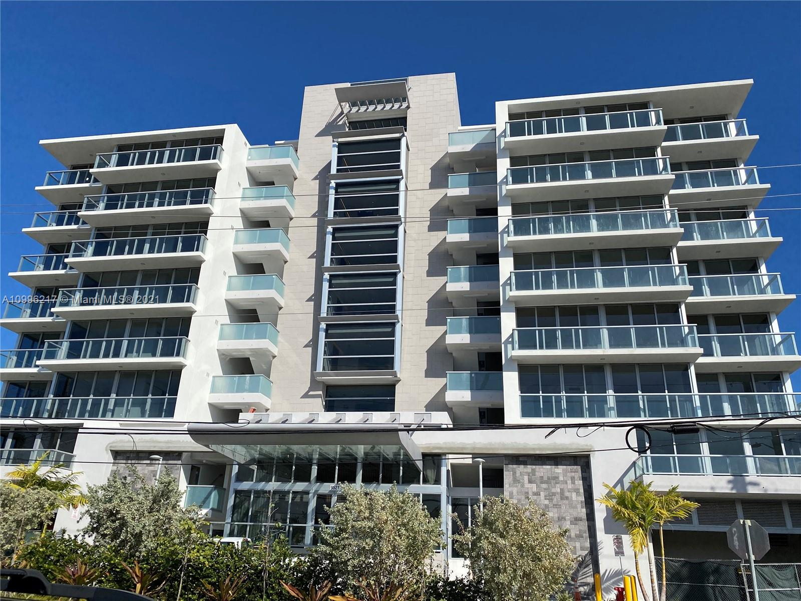 Gorgeous, new construction Bijou (still under construction, owner will assign current contract. Pictures and video are accurate). No timetable for close as of now but should be soon. 858 sq. ft. living area, 1245 sf total area. Huge balcony, patio. 9 story boutique waterfront building in prestigious Bay Harbor.  Only 41 residences. This is the only new construction in the area. Walk or bike to the beach or Bal Harbour Shops.  Beautiful architecture by Revuelta and bold, modern interiors by Adriana Hoyos.  Wholesale financing available for qualified buyers with 10% down and $2332 per month.