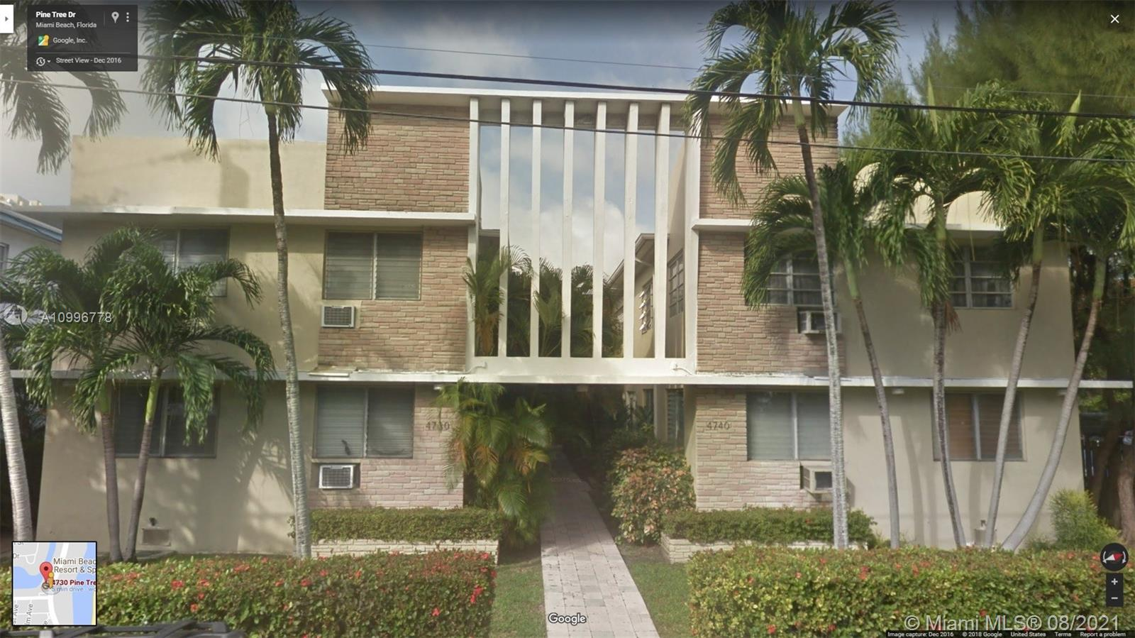 4730  Pine Tree Dr #14 For Sale A10996778, FL
