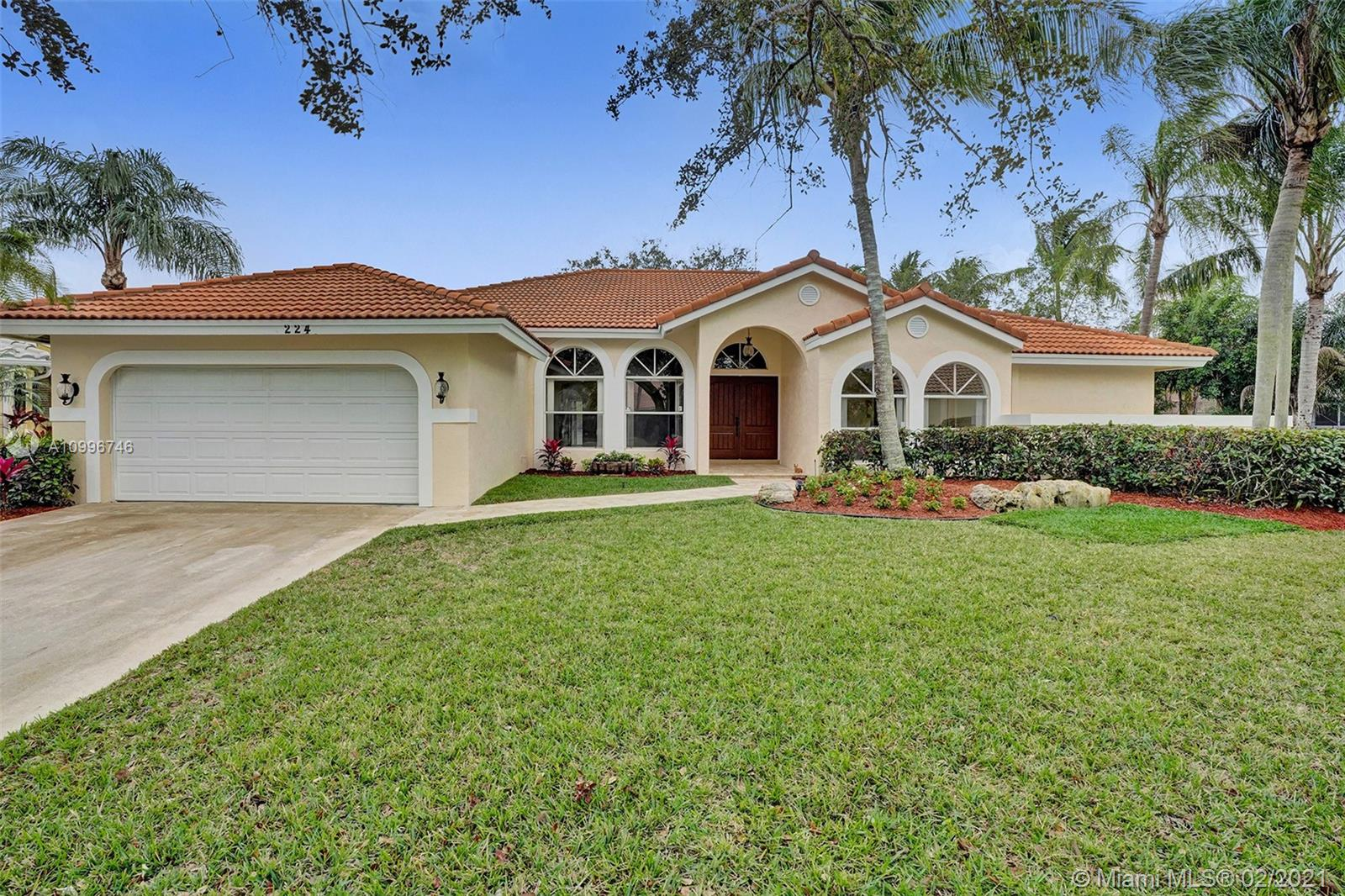 WOW! GREAT BUY ON THIS FUTURA MODEL WITH OVER 2,800 SQ. FT. LIVING AREA ON A .38 ACRE CUL-DE-SAC WATERFRONT LOT WITH A HUGE YARD IN RED HOT WEST GLEN! NEWER S-TILE ROOF 2011! FRESHLY PAINTED IN & OUT! BRAND NEW CARPET 2021 IN LIVING, DINING, FAMILY, AND ALL 4 BEDROOMS! NEW HURRICANE IMPACT FRONT DOORS, GARAGE PEDESTRIAN DOOR, AND MASTER BATH CABANA DOOR 2018! PLEASE SEE FACT SHEET!