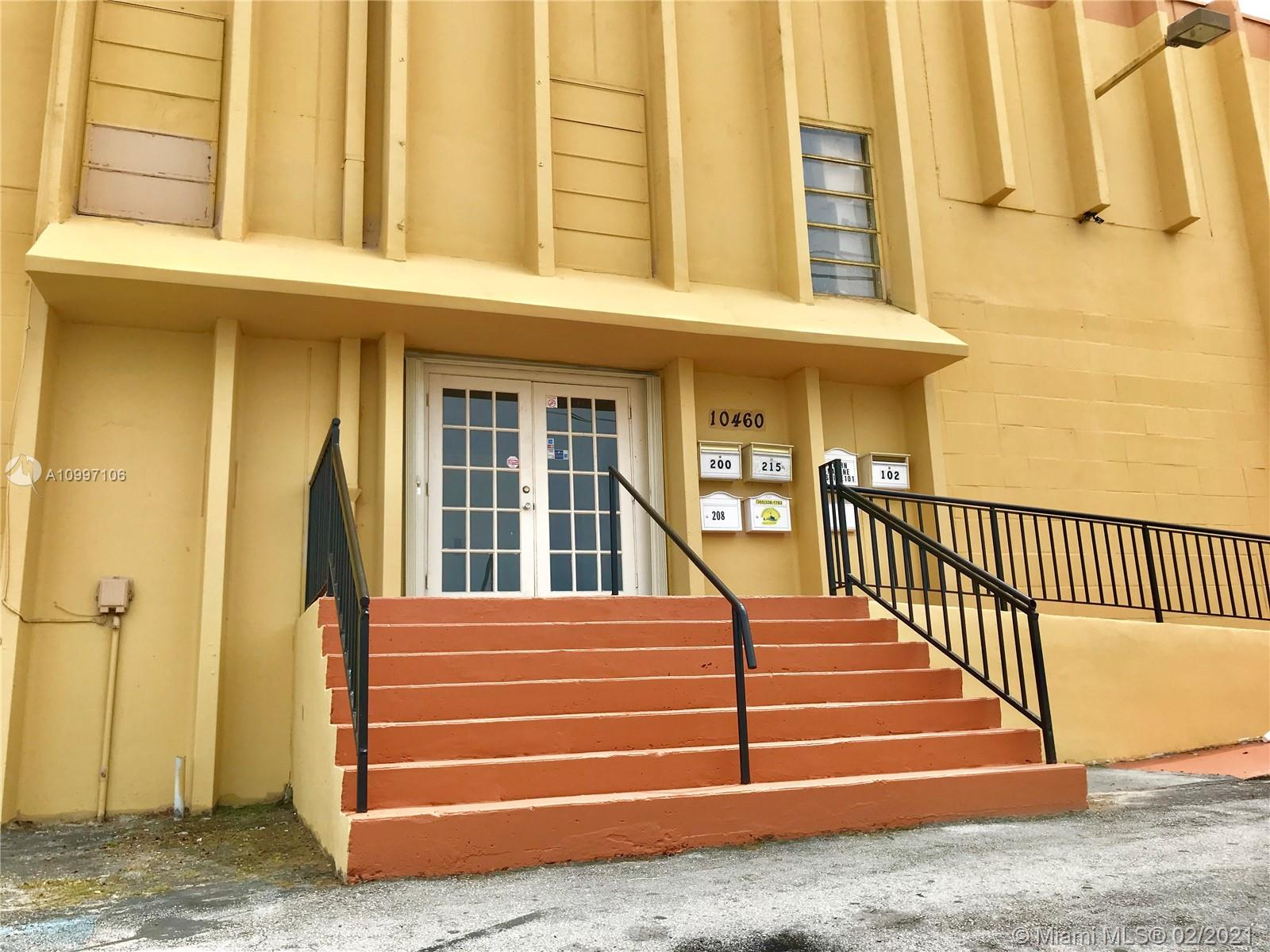 Superb location for private offices!! Free Standing building right on SW 186 Street and 104 Ct, only 0.3 mile east to US 1 (S Dixie HWY) and 0.5 mile west to Florida Turnpike. Seventeen executive offices with a total of 5,182 SF available. May lease entire 5,182 SF or divisable (minimum divisible 161 SF). Plenty of parking spaces. Easy to show. Please bring all offers. Contact listing agent for more info.