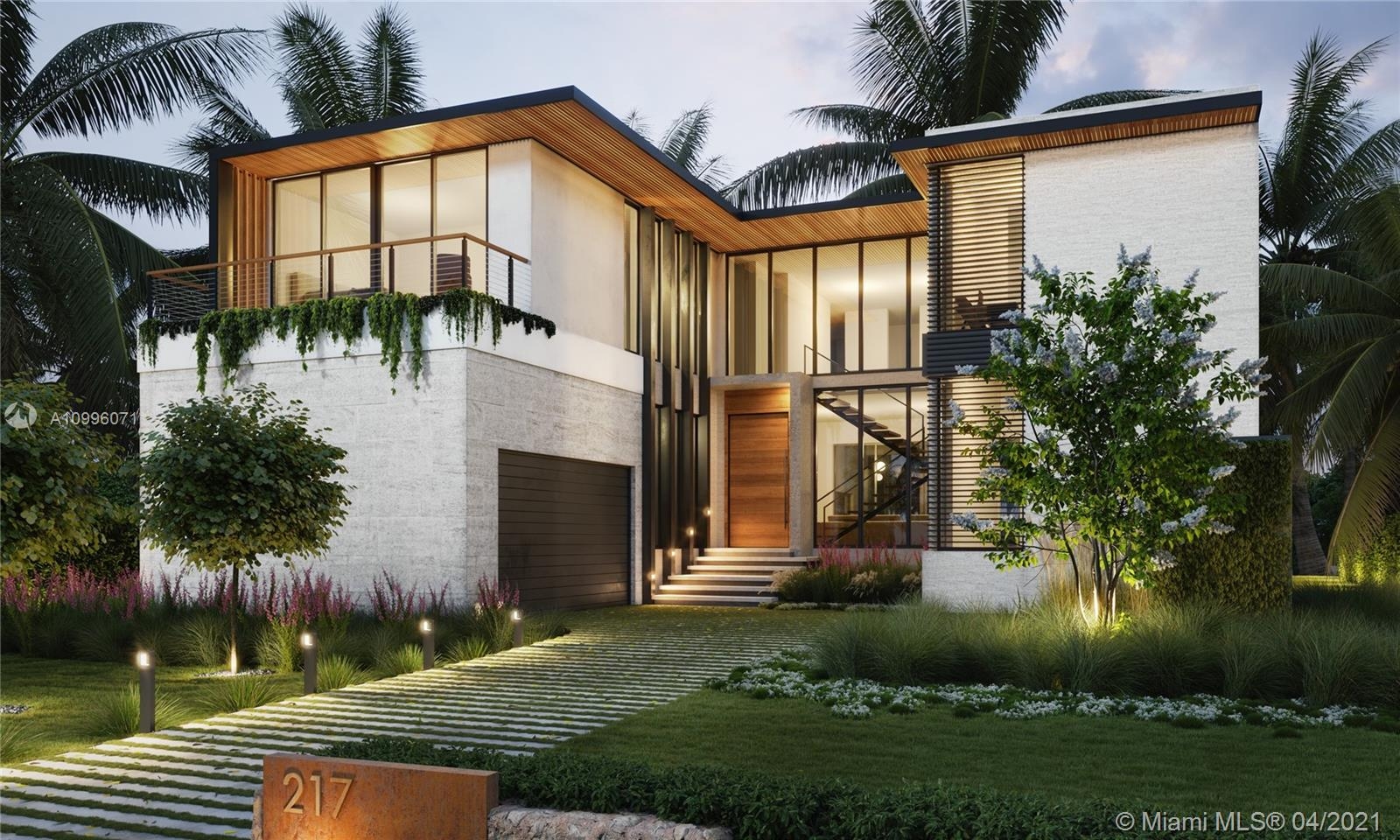 UNIQUE OPPORTUNITY TO OWN BRAND NEW CONSTRUCTION IN EXCLUSIVE BAL HARBOUR VILLAGE!! This Tropical Modern luxury residence is located in the private, guard-gated enclave of Bal Harbour Village. Designed for modern living, this customizable 6,866 SF home features seamless indoor/outdoor living with 6 BR/6.5 BTH, floor-to-ceiling glass walls, a sculptural floating staircase, and a stunning entry courtyard with a 30-ft tall green living wall. Other amenities include: Italian chef's kitchen equipped with Wolf and Subzero appliances, resort-style salt water pool, summer kitchen, second level den/office space, and more. Exquisite finishes throughout including exotic hardwoods and natural stone...this is ultra-luxury living! Expected completion Q1 2022.  Contact Listing Agent for more information.