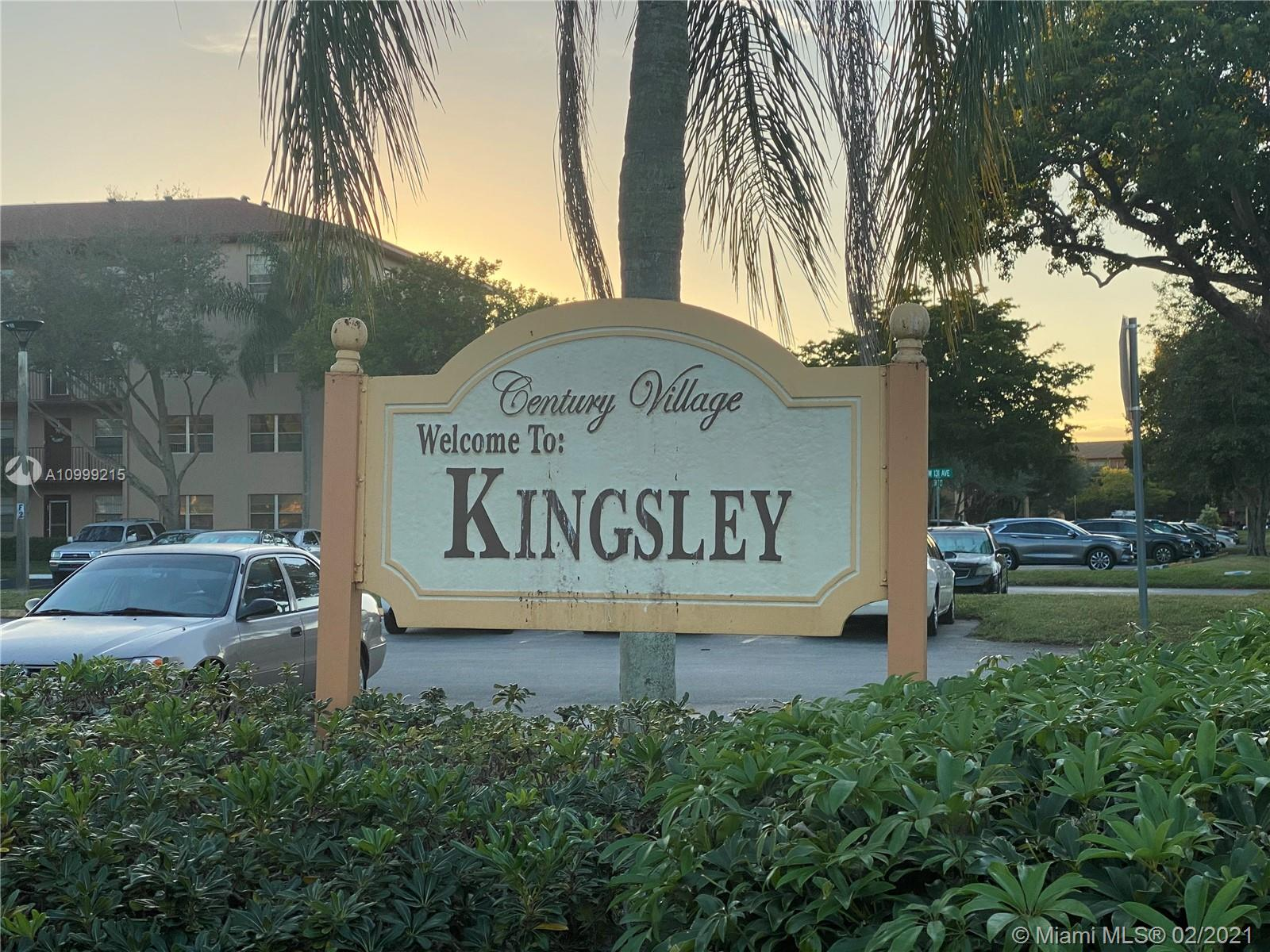 This First floor KINGSLEY 1 bedroom with 1.5 bath condo unit has been completely remodeled with brand new shaker kitchen doors , ceramic tile throughout, upgraded bathroom and an enclosed screen porch offering you a nice calming view towards the lake. The unit also offers accordian shutters , an assigned parking space and all furniture included in listing pictures. For the residents convenience the community offers shuttle service to grocery stores, medical facilities and most importantly plenty of Security. There is a large clubhouse with 2 large pools, theatre, ballroom and gameroom. THE TRUE LIVE AND PLAY COMMUNITY for residents 55+. Bring your pickiest buyer.