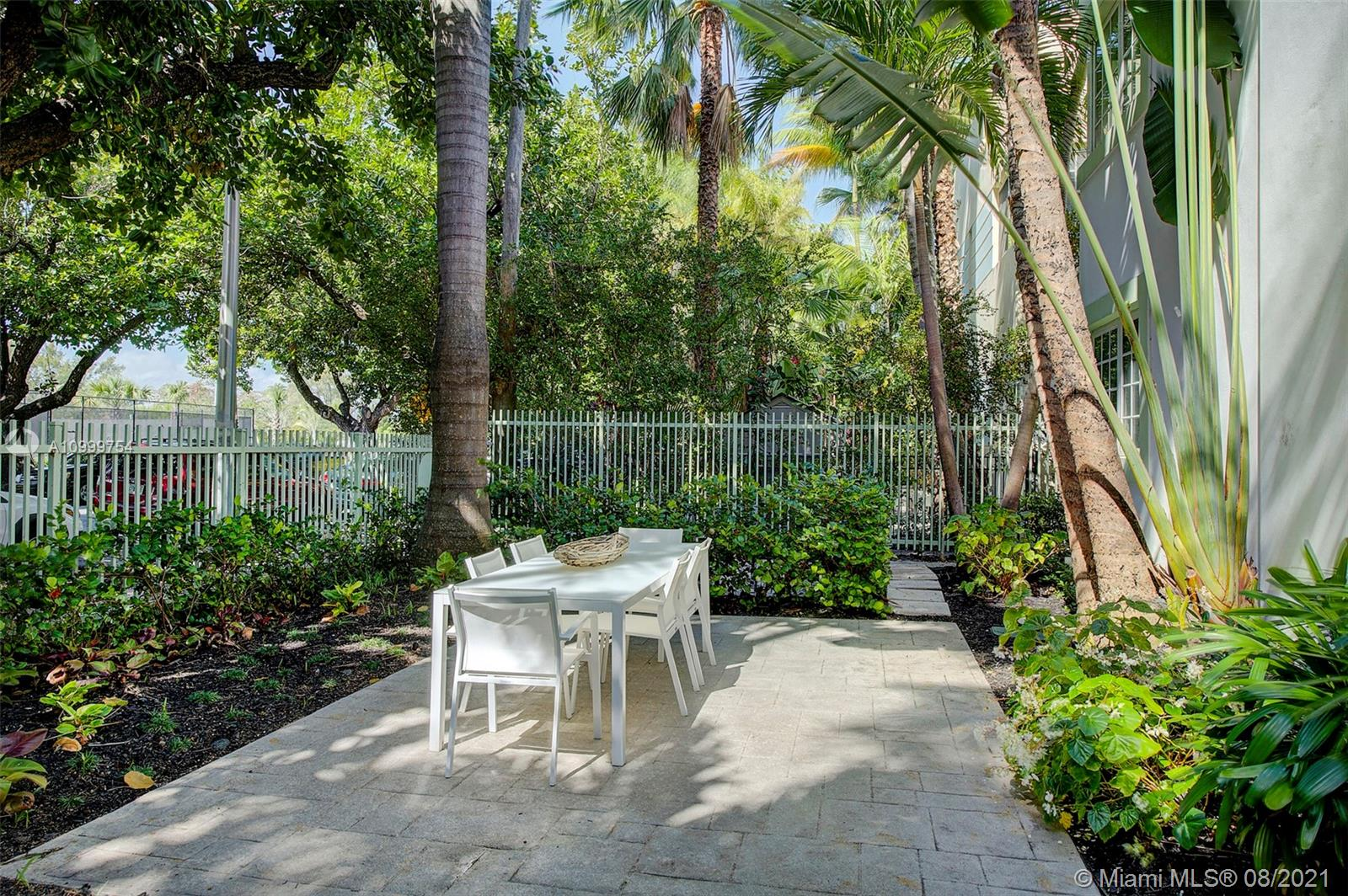 Turnkey unit, with central air, furnished and in the heart of South Beach. Quiet garden courtyard view. Impact windows, original wood floors, kitchen/bath renovation, new paint and fixtures. 
