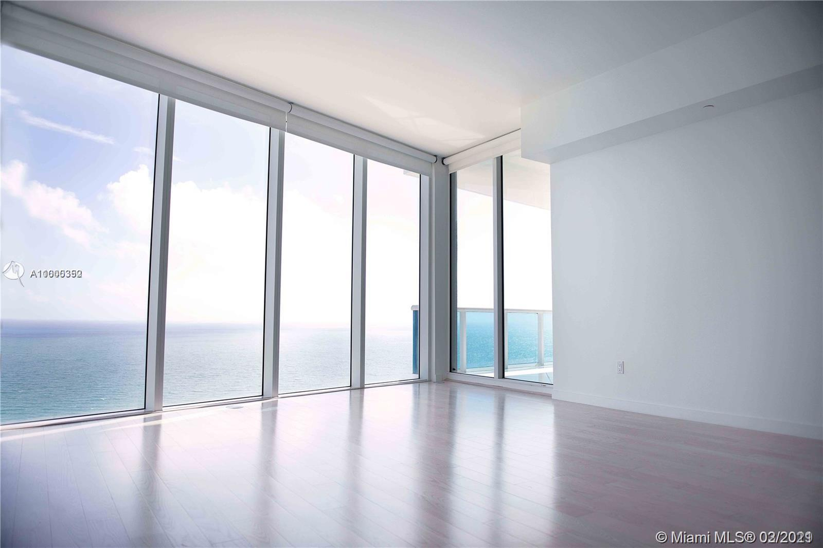Beautiful completely renovated 3 Bedrooms condo at Trump Hollywood. The apartment has incredible direct ocean views, intracoastal and city views, 445 sq ft terrace, marble floors in the living/kitchen area and wood floors in the bedrooms.  Everything is brand new! The building offers luxury services and amenities such as 24h concierge, valet service, gym, spa, beach service, billiards room, social room,  and more. The apt can be sold with a cabana (not included in listing price). Apartment has 4 storage spaces in the building.