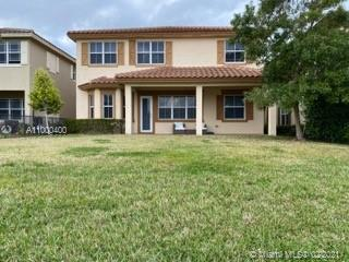 Beautiful 2 story Lake Home at Miralago, a gated community. Move in ready & completely upgraded. This home features a waterfront Premium Lot ($125,000.00), Nest thermostat with doorbell, video, smoke alarm & voice announcement. Gourmet kitchen, GE stainless steel appliances, upgraded cabinets & floors. Hurricane impact throughout, tankless water heater, gas cooktop, refrigerator with Keurig coffee maker, extended patio pavers, retractable patio awning with wind sensor, smooth walls & ceilings without knockdown, new gutters, HOA fee include lawn care front & backyard, gym, heated pool, tennis & basketball courts and playground. Homeowners  also have access to Cascata's Clubhouse, which has indoor racket ball & Plus . The Best Resort Style Clubhouse in town. Parkland's top rated A+ Schools.