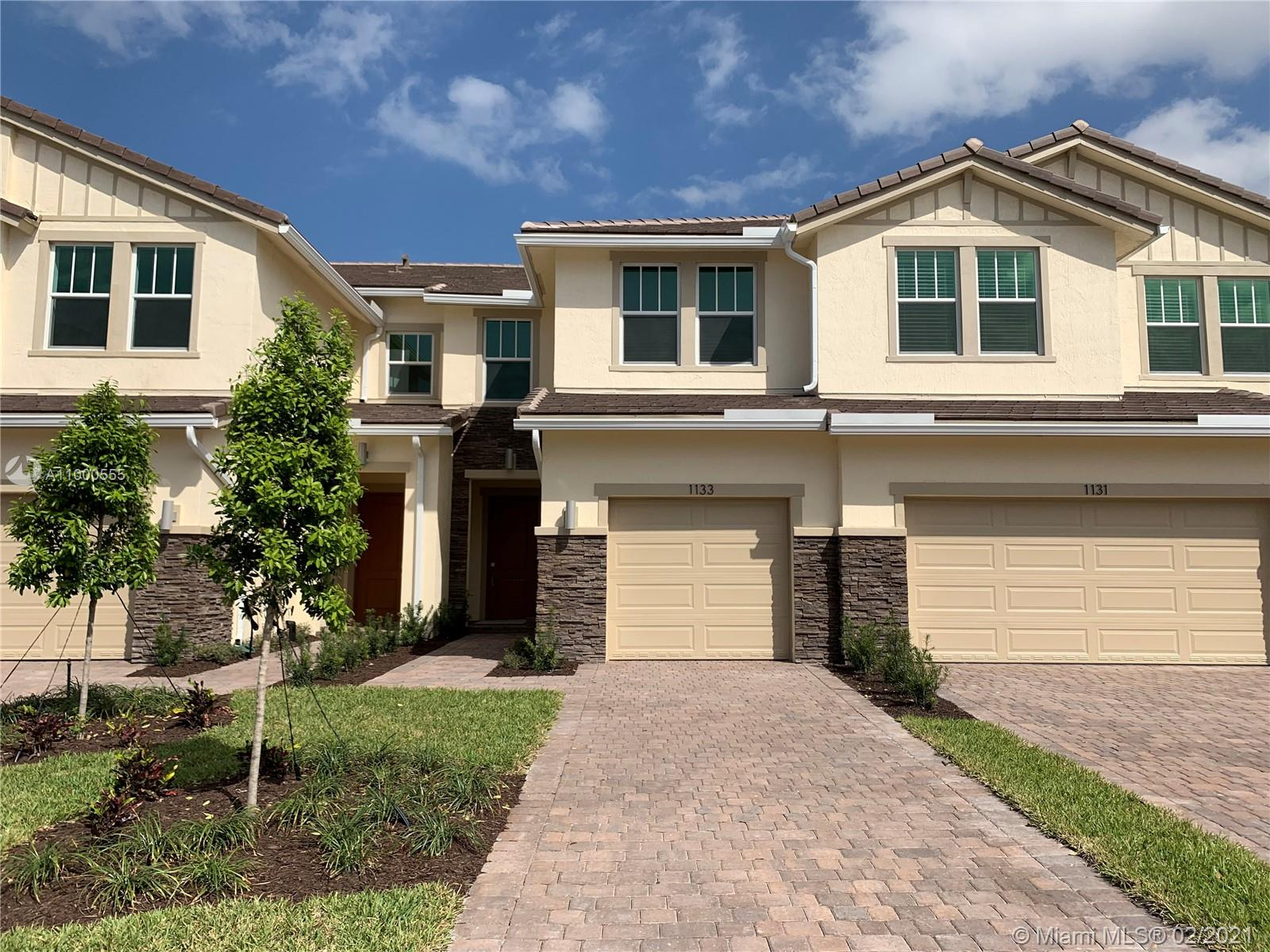 COMPLETED IN 2020, THIS SPACIOUS 3 BED, 2 1/2 BATH TOWNHOME IN VELEIROS AT CRYSTAL LAKE DEERFIELD BEACH IS WAITING FOR YOU! OPEN CONCEPT W/OVER 1600', DREAM KITCHEN W/NEW STAINLESS STEEL APPLIANCES, LARGE ISLAND W/PENDENT LIGHTS, QUARTZ COUNTERS.  TILE THROUGHOUT 1ST FL.  MASTER SUITE W/EXPANSIVE WALK IN CLOSET, DUAL SINKS, WALK IN SHOWER W/SEP WATER CLOSET. GENEROUS SECOND AND THIRD BEDRMS W/LOTS OF CLOSET SPACE. 2ND BATH W/DUAL SINKS, TUB/SHOWER COMBO. LAUNDRY W/LARGE CAPACITY W/D. CARPET UPSTAIRS. HURRICANE WINDOWS/DOORS. HOME BUILT W/SMART PRODUCTS SUCH AS RING DOORBELL, WI-FI SMART LOCK CONTROLLED BY ALEXA. 1CG. EXPANSIVE WATER VIEWS, OUTSIDE PATIO, LARGE YARD.  COMM POOL, FITNESS CENTER,CLUBHOUSE, TOT LOT COMING SOON!  NEW, NEW, NEW!!! LOW HOA-THIS ONE WON'T LAST–MAKE IT YOURS TODAY!