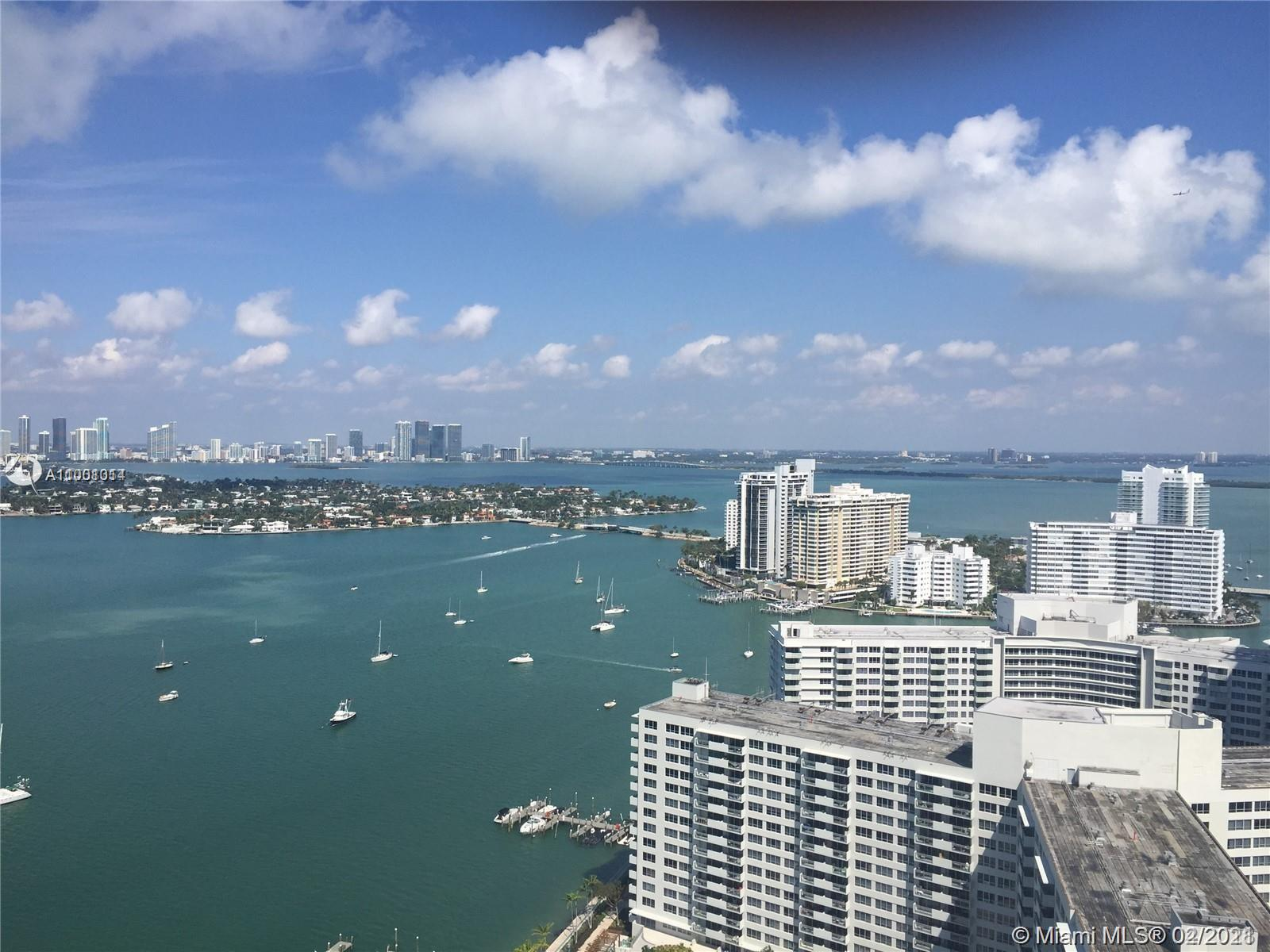 South Beach bayfront apartment in a high floor and with great views of the bay, sunsets and Miami skyline. Unit has a balcony and walking closet in the master bedroom. The Waverly is one of the most desired buildings in the area, with a gym, tennis, spa and a bayfront pool. Tenant with a lease through May 31. Do not disturb.