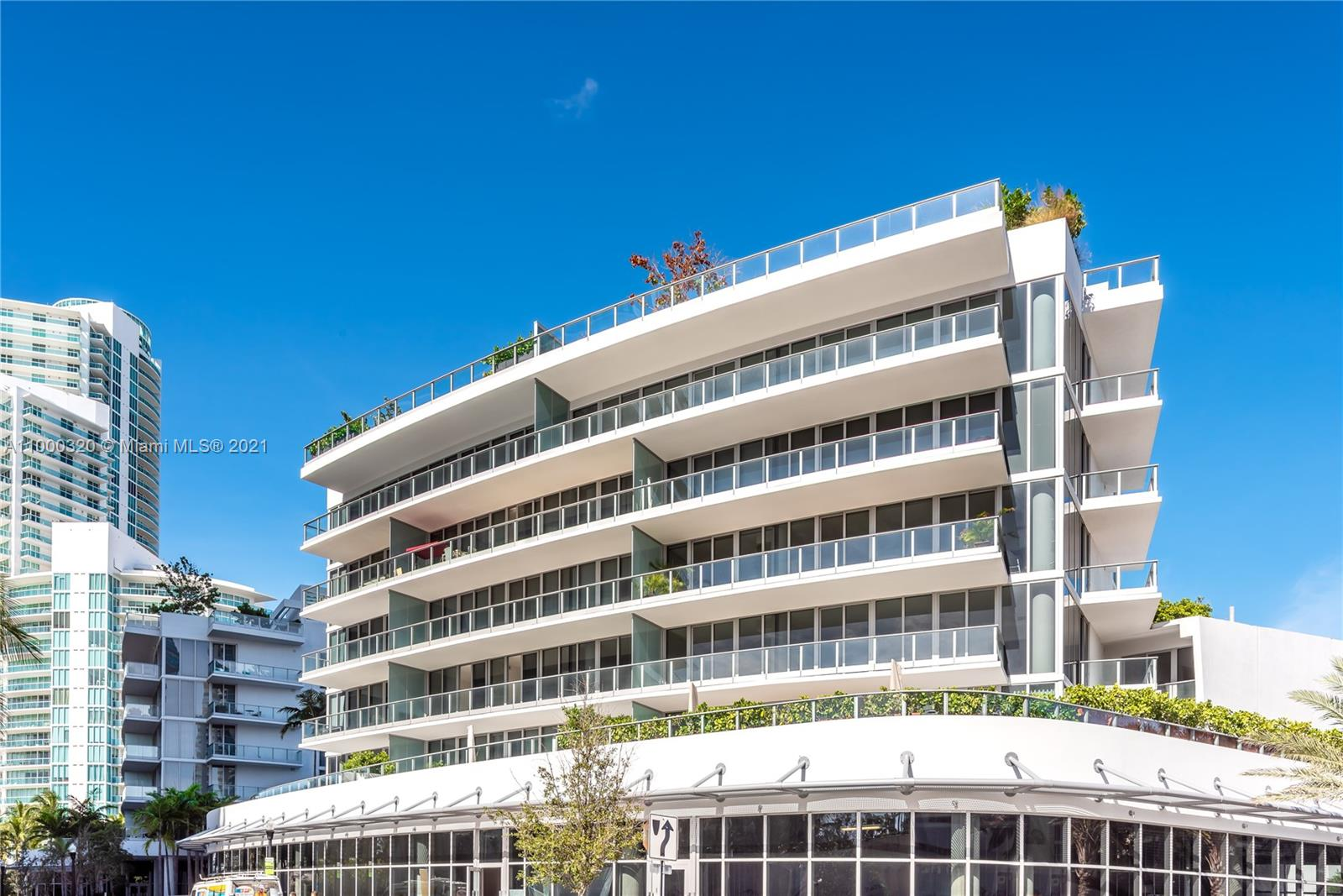 ENJOY BOUTIQUE SOUTH OF 5TH STREET LIVING in Light & Airy 2 bedroom corner residence. Elegant with warm finishes unit at the exclusive boutique Marea condo in the heart of South Beach. Residence offers large terraces & beautiful views of Palm Trees & Bay. Features an open floor plan w/ Oakwood floors throughout. A private elevator opens to the unit, island kitchen w/Subzero, Wolf & Asko appliances and Wine Storage. Designed by Sieger- Suarez Architects, Yabu Pushelberg & Enzo Enea. This amazing unit is an oasis of tranquility in the most desirable neighborhood, South of 5th. Only 30 residences w/inviting rooftop pool, Jacuzzi & lounge area, gym, spa out the back door of your unit. Across the street from Joe's Stone Crab, minutes to fine shops & entertainment.