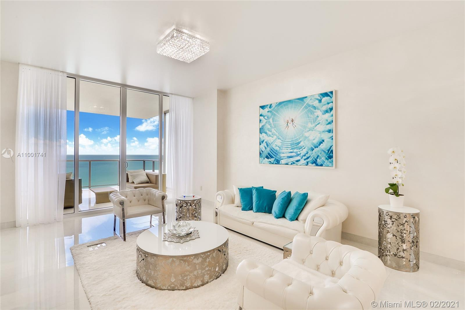 SPECTACULAR LUXURY OCEAN FRONT RESIDENCE/PANORAMIC DIRECT MOST SE OCEAN & Miami Skyline VIEWS /STATE OF THE ART ITALIAN KITCHEN/Brand New BATHROOMS /Private SAUNA Lots of CLOSETS / ITALIAN PORCELAIN THROUGH OUT / FEATURING 3 UNIQUE OVER SIZED PRIVATE TERRACES ! THIS 2 BEDROOMS PLUS A DEN / 2.5 BATHS RESIDENCE IS LOCATED IN THE CENTER TOWER OF THE ST REGIS RESORT BAL HARBOUR / Ultimate luxury 5 Star Resort Amenities. Signature Butler Service, 12 000 Sq. ft. Superb Remede Spa, State of the Art Fitness Center, World Renown Gourmet Dining, World Class Shopping / Nine Acres of Gardens with 600 feet Ocean Frontage, Full Service at the Pool/Beach Area. Enter the world of Privilege and Sophistication that is The St Regis Bay Harbour !!