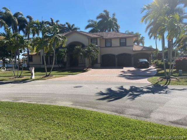 """One of the nicest lake vie lots in the neighborhood! This 5 bedrooms/3.5 bathrooms developer model home, all concrete on a quiet side street with spectacular curb appeal and breathtaking lake views! Oversized 18,500 sq ft Lot with a beautiful pool & landscaped backyard! Sold """"AS-IS""""! Owner Motivated - 24hr Notice! This house has a lot of potential!"""