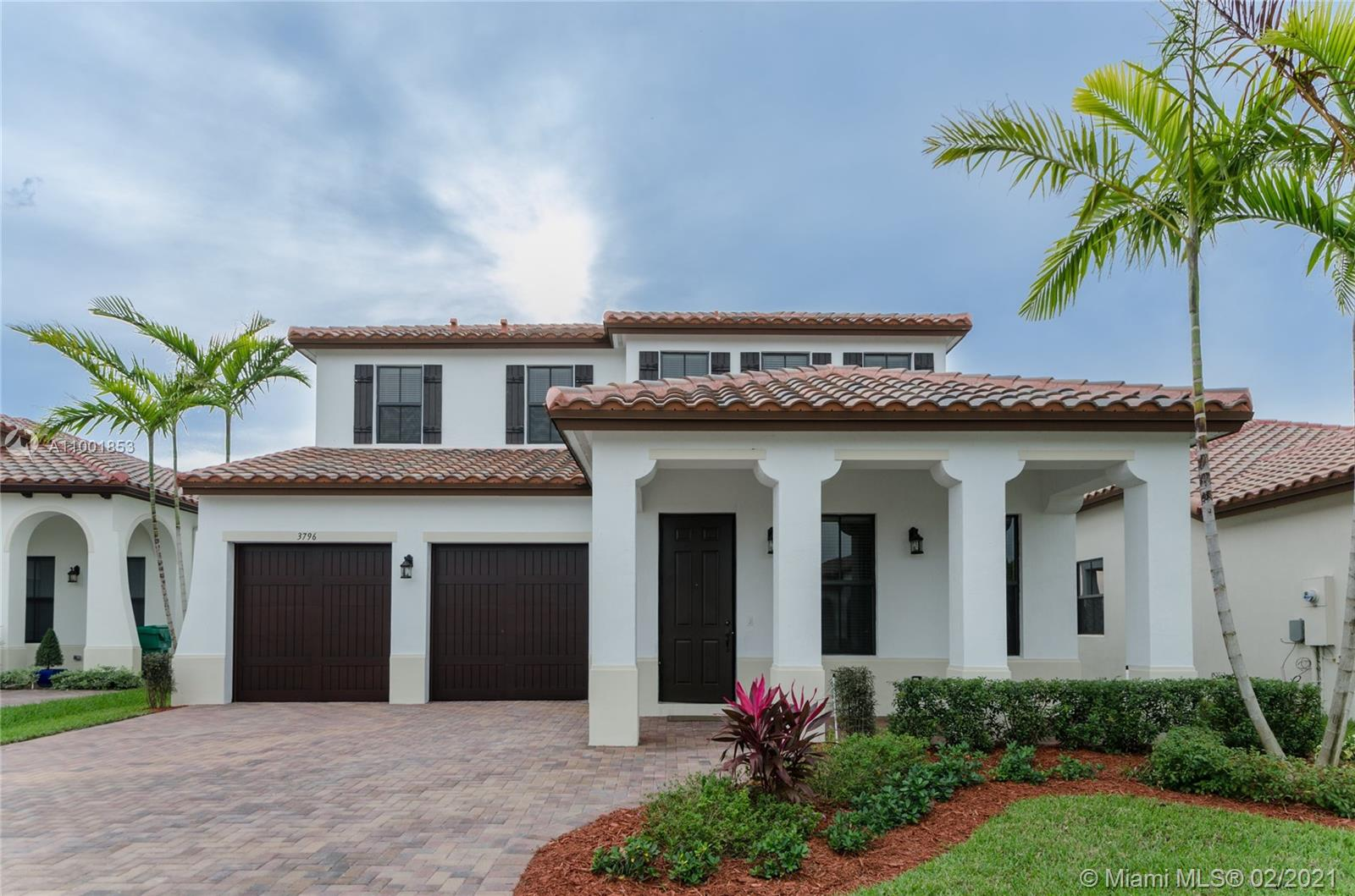 WELCOME TO COOPER CITY'S MOST SOUGHT AFTER GATED-COMMUNITY! THIS WATERFRONT HOME OFFERS 4 BEDROOMS / 3 BATHS WITH AN OPEN FLOORPLAN INCLUDING HIGHLY UPGRADED KITCHEN AND OVERSIZED MASTER SUITE. ADDITIONAL FEATURES INCLUDE HURRICANE IMPACT WINDOWS, 2 CAR GARAGE, AND GORGEOUS WATERVIEWS. THE COMMUNITY OF MONTERRA OFFERS RESORT STYLE AMENITIES INCLUDING TENNIS & BASKETBALL COURTS, FITNESS CENTER, TOT LOT AND DOG PARK. A+ RATED SCHOOLS, JUST MINUTES FROM THE AIRPORT AND MAJOR HIGHWAYS. PRICE IS FIRM, NOT CONTINGENT ON APPRAISAL. SHOWINGS BEGIN 02/27/2021