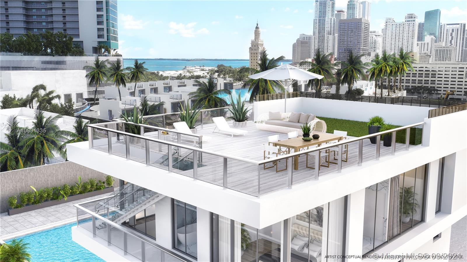 851 NE 1st Ave #Villa 1 For Sale A10991335, FL