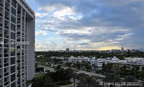 Enjoy beautiful sunsets with intracoastal and bay views on this spacious 1bed/1.5 bath apartment.   This unit has granite countertop, Italian cabinetry, washer and dryer  and walking closet.   Building has recently been renovated in the lobby and hallway areas.   Some of the amenities include a fitness center, spa, beach service, valet, lobby attended, mini market, tv lounge, 24 hour security.   Excellent location close to Bal Harbour shops, restaurants, Surfside and Sunny Isles.  Call listing agent for more information.