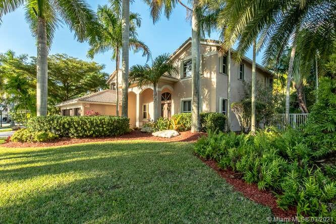 Outstanding Weston Pool Home!  Move-in ready with new wood floors throughout.  Open floor plan features formal living, dining, and family room.  The kitchen is a chef's delight with an island and eat-in area.  Super light and bright.  The backyard is a tropical paradise with a spa pool and fountains flowing giving a Zen experience in your own home.  Upstairs landing has an open area for work or play space.  The expansive master bedroom has a separate room to create a yoga room, office or nursery.  Double walk-in closets with custom built-in storage.  This home is perfect for a work at home environment or a growing family.  Great Savanna Community with two gated entries.  Resort-style community pool and club house.  Enjoy the Florida lifestyle!