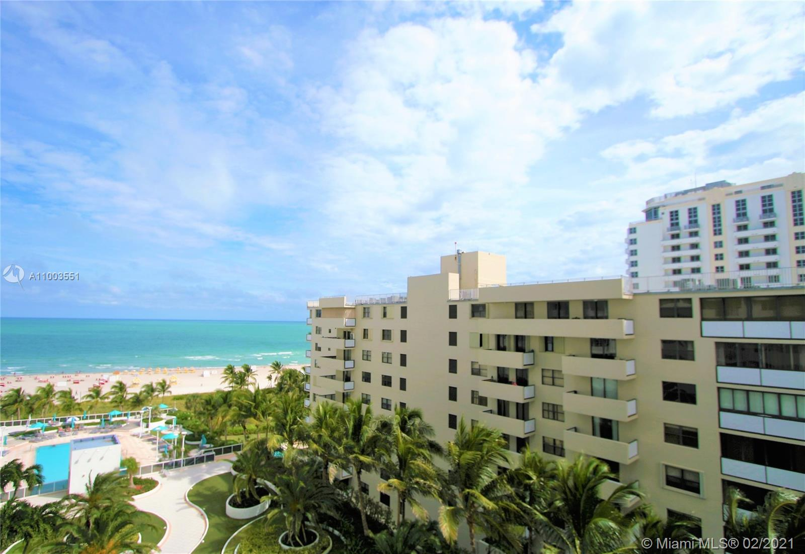 IMMACULATE UNIT AND DIRECT OCEAN VIEWS! SPECTACULAR PRIVATE BALCONY STARING DIRECTLY AT THE OCEAN AND OVER THE LAVISH DECOPLAGE POOL DECK. OPEN KITCHEN WITH A PERFECT BREAKFAST BAR, ALL TILE FLOORS, WALK-IN CLOSET, GLASS SHOWER ENCLOSURE AND MORE. SOLD FULLY FURNISHED AND FINISHED! THE DECOPLAGE IS ON THE BEST CORNER IN SOUTH BEACH, WHERE LINCOLN MEETS THE OCEAN. STROLL OUT OF THE BUILDING TO BRUNCH ON LINCOLN ROAD, GREAT DINING AND NIGHTLIFE AT ALL THE HOTELS ON COLLINS AND OF COURSE, WALK RIGHT DOWN TO THE BEACH RIGHT FROM THE HEATED POOL DECK. 24/7 CONCIERGE AND VALET, FANTASTIC GYM, PARTY AND GAME ROOM AND MORE ..