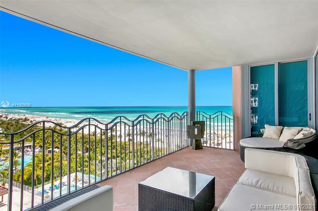 OCEAN VIEWS FROM EVERY ROOM FROM THIS SPACIOUS 2/2.5 THAT CAN BE CONVERTED BACK TO 3/3. WALK OR BIKE ANYWHERE FROM THIS OCEANFRONT BEAUTY LOCATED IN THE HEART OF SOUTH BEACH! COMFORT BEST DESCRIBES THIS LOVELY CONDO AT THE AWARD WINNER MICHAEL GRAVES WITH CHARM AND WARMTH BEYOND BELIEVE. FULL SERVICE LUXURY CONDO. PET & PEOPLE FRIENDLY. COME MAKE EACH DAY A BEACH DAY A LA MICHAEL GRAVES STYLE! A MASTER BROKER LISTING.