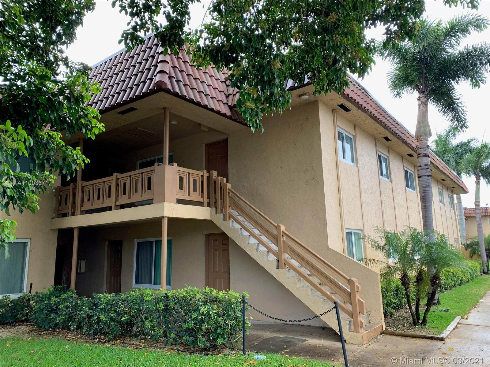 Great Opportunity!! 3 bedroom condo with 2 door access (one goes directly to a bedroom) the other one goes to the main entrance. Brand new roof, AC, bathroom pipes, high impact windows throughout and new driveways. The schools are near 2901 NW 48th Ave Apt 157 include Castle Hill Elementary School, Lauderhill 6-12 STEM-MED Magnet School and One on One Enrichment Academy. Easy showing, Won't Last!