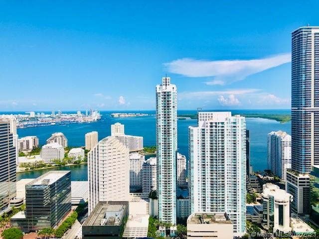Brickell Heights East LPH 4601 - coveted high floor '01' line with 3 full master suites plus guest half bath and a separate den/office area.  Exceptional direct east/ocean, north, south and city views. 12+ foot volume ceilings. Custom closet cabinetry. Room darkening or privacy shades throughout.  Highly sought after storage space included.  Self parking space for 2 vehicles.  Split plan with main master separated from the other 2 master suites for privacy.  Amenity rich building in a museum like modern art setting.  Stunning rooftop pool and lounge.  Easy to show.