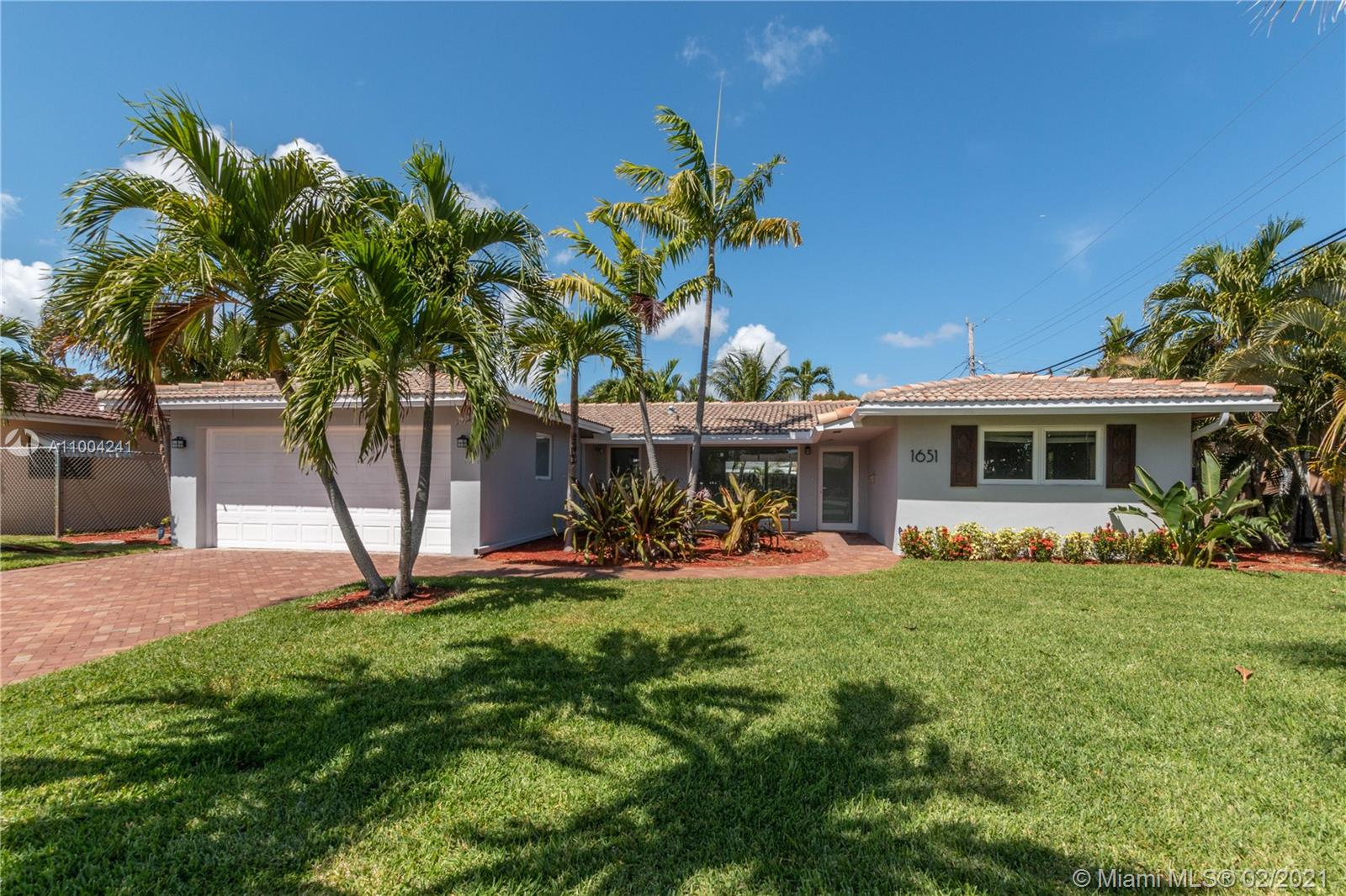 Beautiful 3 Bed / 2 Bath Coral Ridge Isles home! This completely remodeled, open floor plan home features impact window and doors, built-in closets, updated bathrooms, large back yard and two car garage. Property is rented until 6/14/2021 for $3,000/per Month.