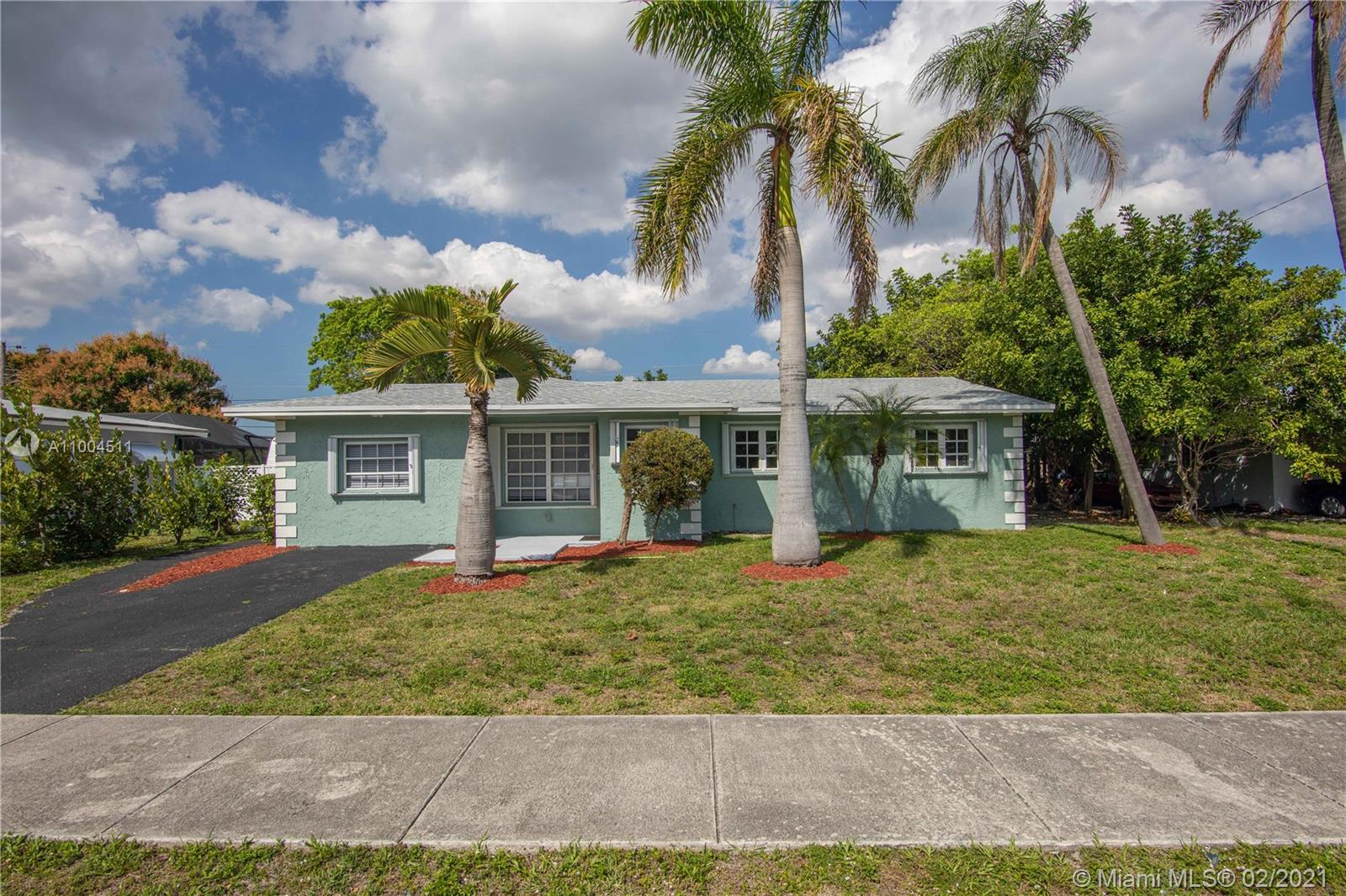 Completely updated home with large open floor plan.  New roof, custom kitchen with granite countertops and high-end stainless steel appliances, designer finishes in bathrooms, all LED lighting, new porcelain tile in all living areas, all new interior doors, trim and hardware,  plus much more.  Walking distance to Broward Medical, close to I95 and less than a few miles from the beaches. Move in ready! Available to only owner occupied buyers and certain income restrictions apply. See documents attached. Multiple offer situation, best and final due Tuesday March 2nd and decision by Wednesday March 3rd