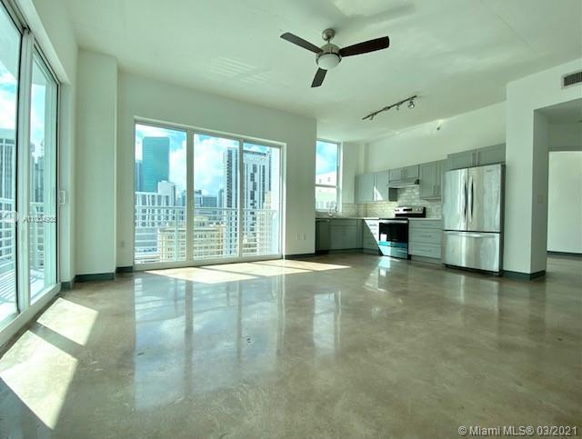 Home warranty until May 2022.  All new kitchen and polished floor and many new upgrade.   The Loft 2 offers residents of the building a number of wonderful amenities, including a lap pool (located on the ground-floor level); a rooftop pool, hot tub, and sundeck; sauna; club house; and a rooftop fitness center.  Its within walking distance of Bay front Park, the shops and restaurants, and the American Airlines Arena. This great corner unit has an incredible view of the City and Ocean! -  it is 5 minutes from Brickell, 18 minutes from Coconut Grove, and 20 minutes from the Miami International Airport.  See attachment for HOA Rules and Regulations. Buyer Agent is responsible to verity any specific information. Summit Offer with Proof of Funding.