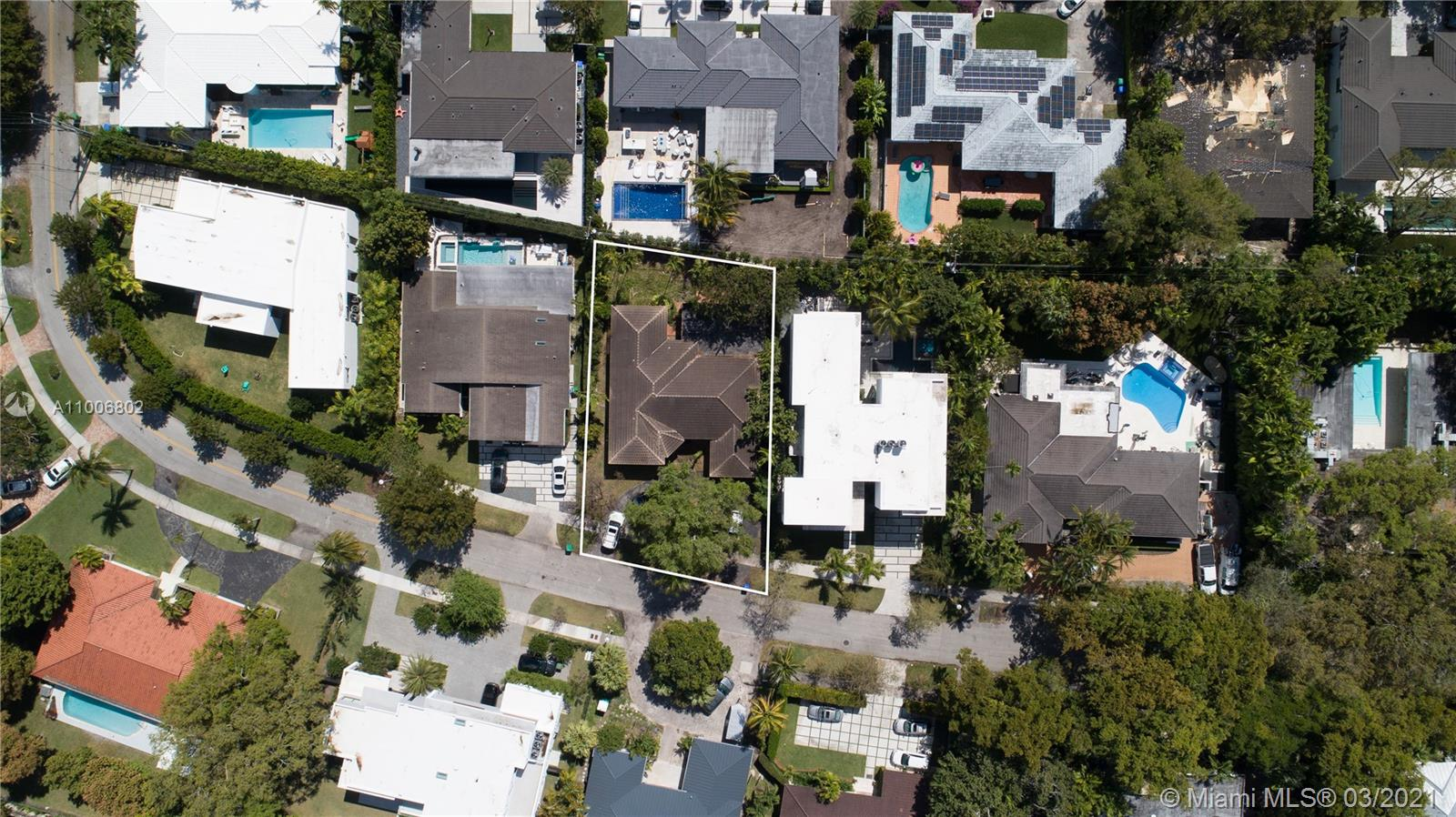 Build your dream home or invest for the future on this 8,951 sq. foot lot perfectly situated in Miami's highly sought after Bay Heights community. The lot dimensions are 80 feet wide and 117 feet in depth and the current structure will soon be demolished per owner and ready to build on. Bay Heights is a quiet but yet central 24-hr patrolled community in Coconut Grove across from Vizcaya Museum and Gardens and a short commute to Brickell, Downtown, the park, beaches, Grove village, Regatta Park and Coral Gables. Adjacent modern home is also available for $4.9M an amazing opportunity to combine two properties and maximize land and privacy.