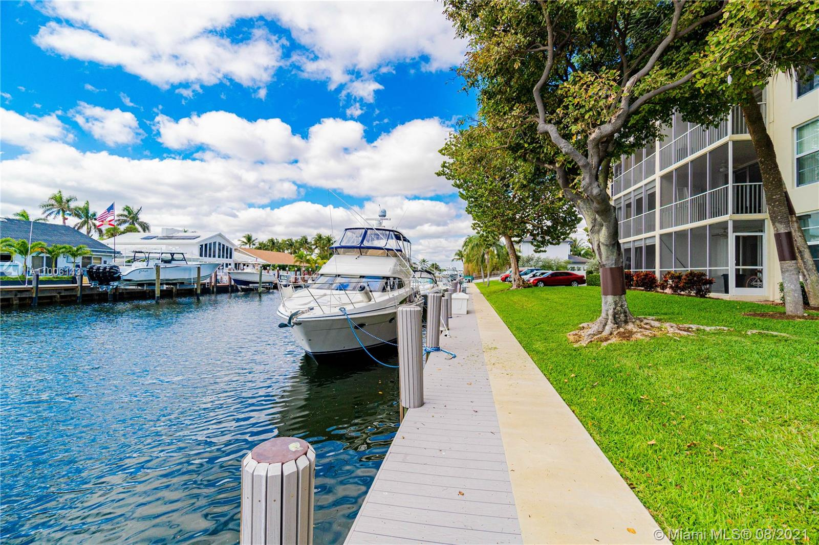 """Come see this """"IMMACULATE*Waterfront* Apartment 1Bed/1.5Bath *FURNISHED* in Palm Aire at Coral Key, conveniently situated in the City of Lighthouse Point. Very nice unit in Excellent condition on the second floor. The kitchen features SS appliances & granite countertops. Tiled throughout. This is a Resort Style Community on the Water with Dockage Available and Amenities including Pool & BBQ Area. Plenty of guest parking. Screened Balcony ***Great Location*** Completely remodeled with all that you need to move in, just bring your toothbrush and clothes!!! ---Make this place your Home and Enjoy the RELAXING Waterfront Lifestyle. ---"""