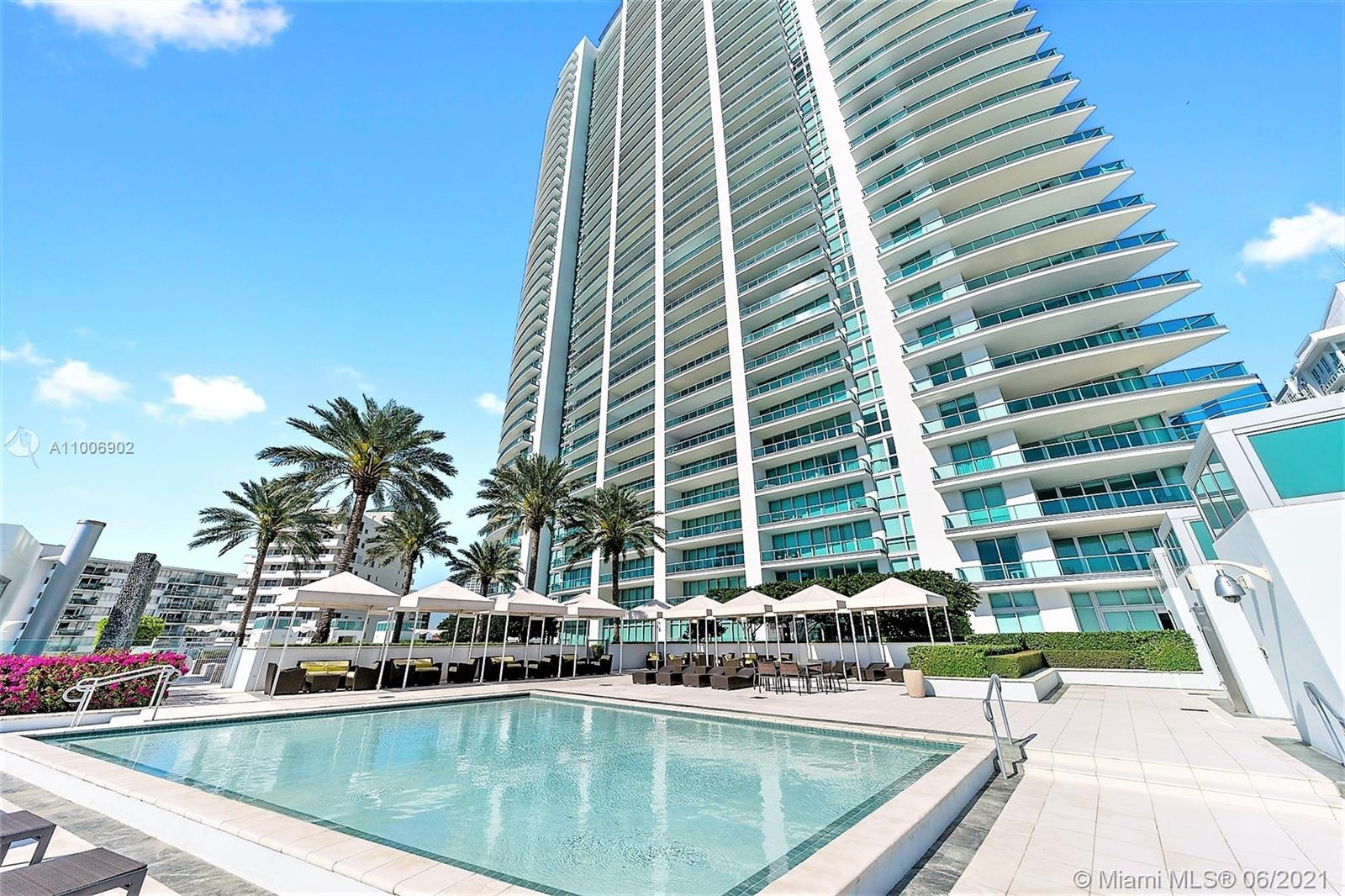 Sophistication & Elegance in this resort style unit in the heart of Brickell. Amazing views as soon as the private elevator opens into this beautiful South East corner residence. Marble floors, open kitchen, top of the line appliances, custom made closets. Excellent waterfront location just steps from all the booming action that Brickell have to offer. Five star amenities, including state of the art fitness center w/bay views, infinity-edge pool at 7th floor w/cabanas & towel service, spa w/sauna & steam room. 24 o concierge. Roof-top sky-lounge. Library, media room, observation deck, business center w/conference room. Racquetball court. On site restaurant. 2 Parking spaces: 1 space assigned + 1 valet.