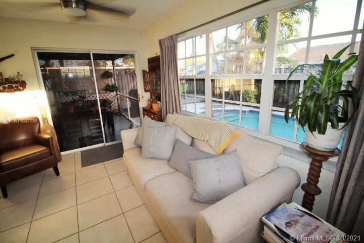 Pool, private backyard, and outdoor space Single Family Home. Totally upgraded and renovated with open, bright, and modern spaces. Located in a nice, quiet, peaceful, and friendly open community in Broward County. No HOA fees. Easy access to the main Florida roads, great schools, close to the Sawgrass Mall, shopping areas, universities, recreational parks, hospitals, restaurants, fun and entertainment centers. New roof 2016. New A/C unit and water heater 2020, new lighting in kitchen and dining room 2020, new wood floors in all 3 bedrooms 2019. New property electric panel Jan 2021. Pets are welcome. You can enjoy the relaxing pool view, the cozy porch environment, the amazing patio and  beautiful garden to feel the  experience of living in  the South Florida paradise.