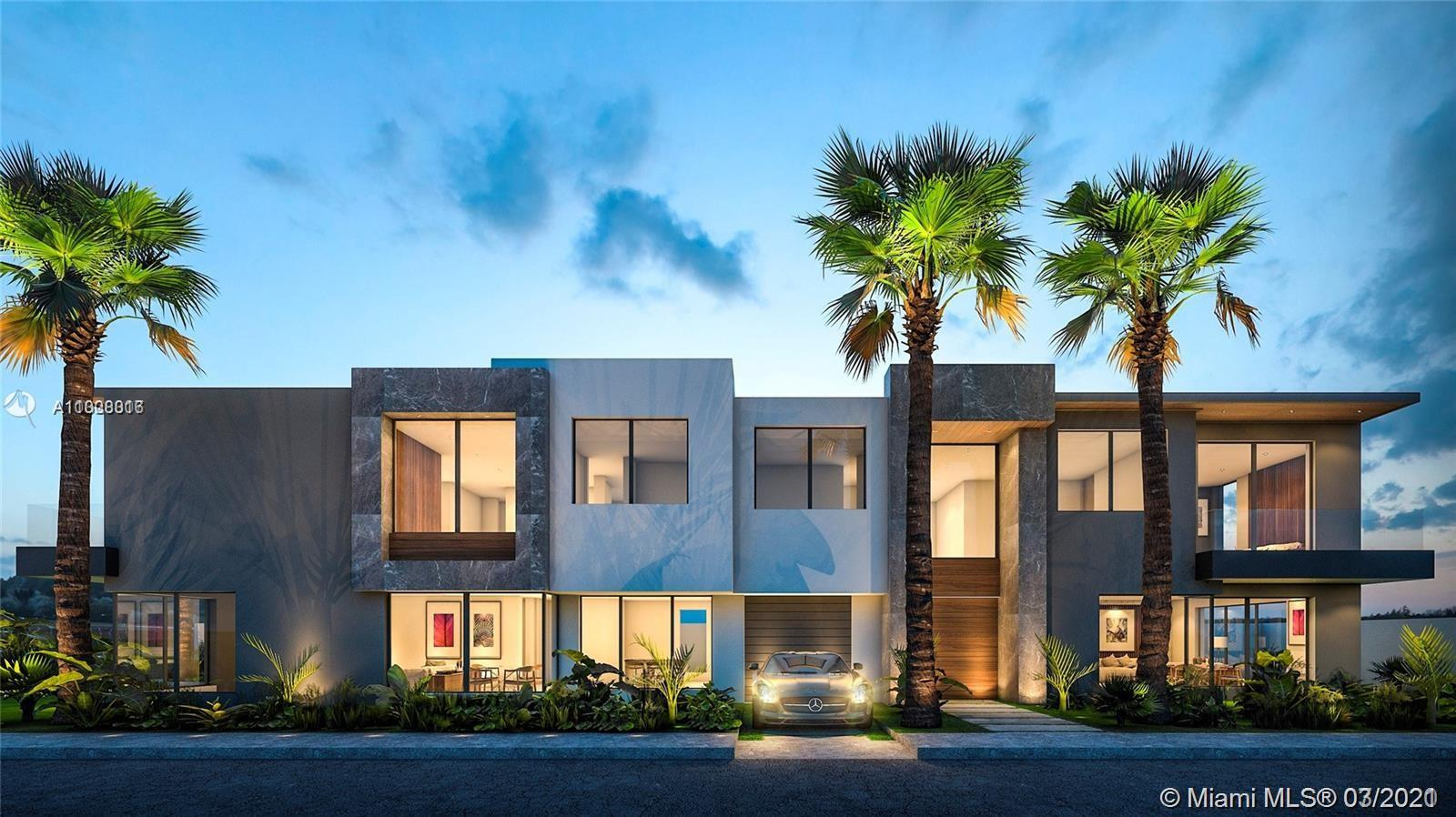 Pre-Construction Townhome in beautiful Croissant Park. Custom modern design planned with all high end features thoughout. 3 Bedrooms / 3 Baths with option for 4th Bedroom in loft area. Each will have 2800 sq ft under air. Architect will incorporate the outside landscape and insure natural light inside the home. Private covered garage with extra parking. Occupancy May 2021. Property is located close to downtown Fort Lauderdale and FLL airport.