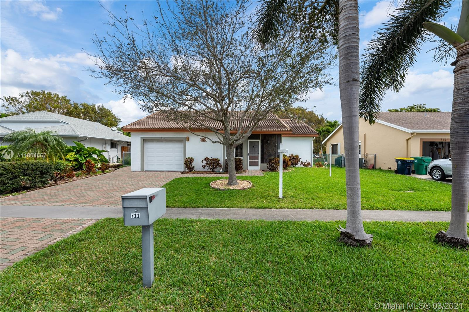 Beautifully well maintained 2-bedroom, 2 full bathrooms plus a Den and a 1 car Garage. This home perfectly located in the premiere East Dania Beach area. Less than 5 minutes from the beach! IMPACT WINDOWS THROUGHOUT, newer tile ROOF, oversized dining and living room with ample space for an office. Spacious lot with the uniqueness of an additional back driveway, perfect for parking RV, boat or extra car. Private back yard. This quiet neighborhood is conveniently located between Downtown Fort Lauderdale and Hollywood, located less than 3 miles from FLL airport. Come see for yourself how awesome this house is! This home will not last!