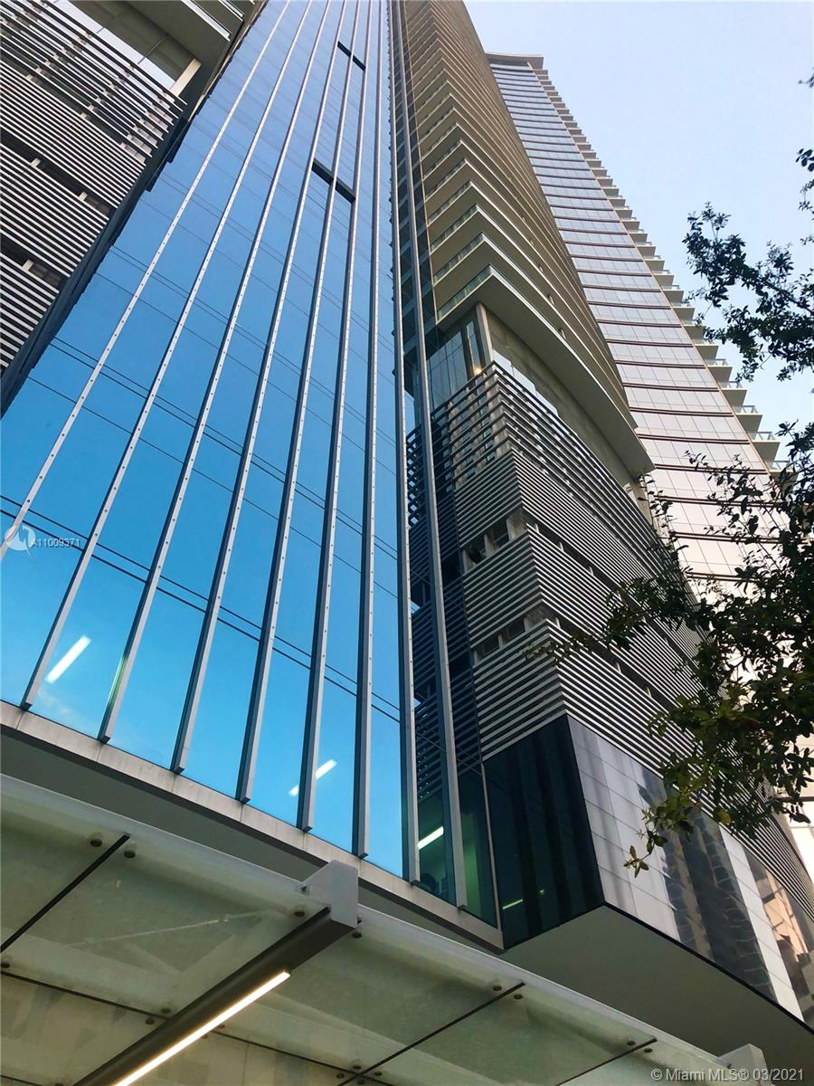 Brand New  Residential Luxury Condo 1 Bed + Den /2 bath, private elevator entrance right into your exquisitely furnished turn key!  Yes !! All Furniture included, Magnificent view to East and West Miami. European modern kitchen with top of the line appliances. 2 floor of  Best amenities, indoor Basketball Court, Racquetball Court, Conservatory, Relaxation Lounge, Spa/Salon, State-of-the-art Fitness Center, Boxing and Aerobics Area, Entertainment Center, Tennis Courts, barbecue areas, children playground, and playroom, teens playroom, and 4 pools. Within walking distance to Arena, Performing Art Center, Museums, Community college, Bayside shops, restaurants etc. Conveniently located next to I-95 and I-395.