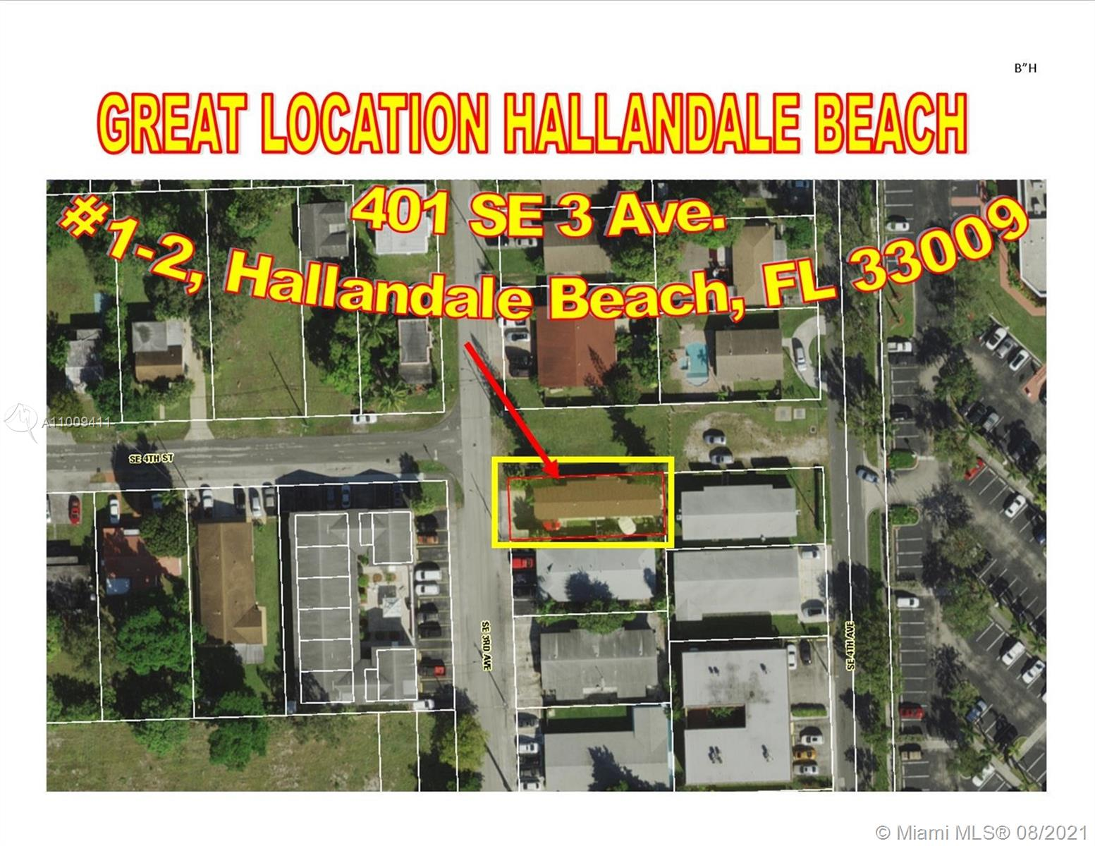 401 SE 3rd Ave  For Sale A11009411, FL