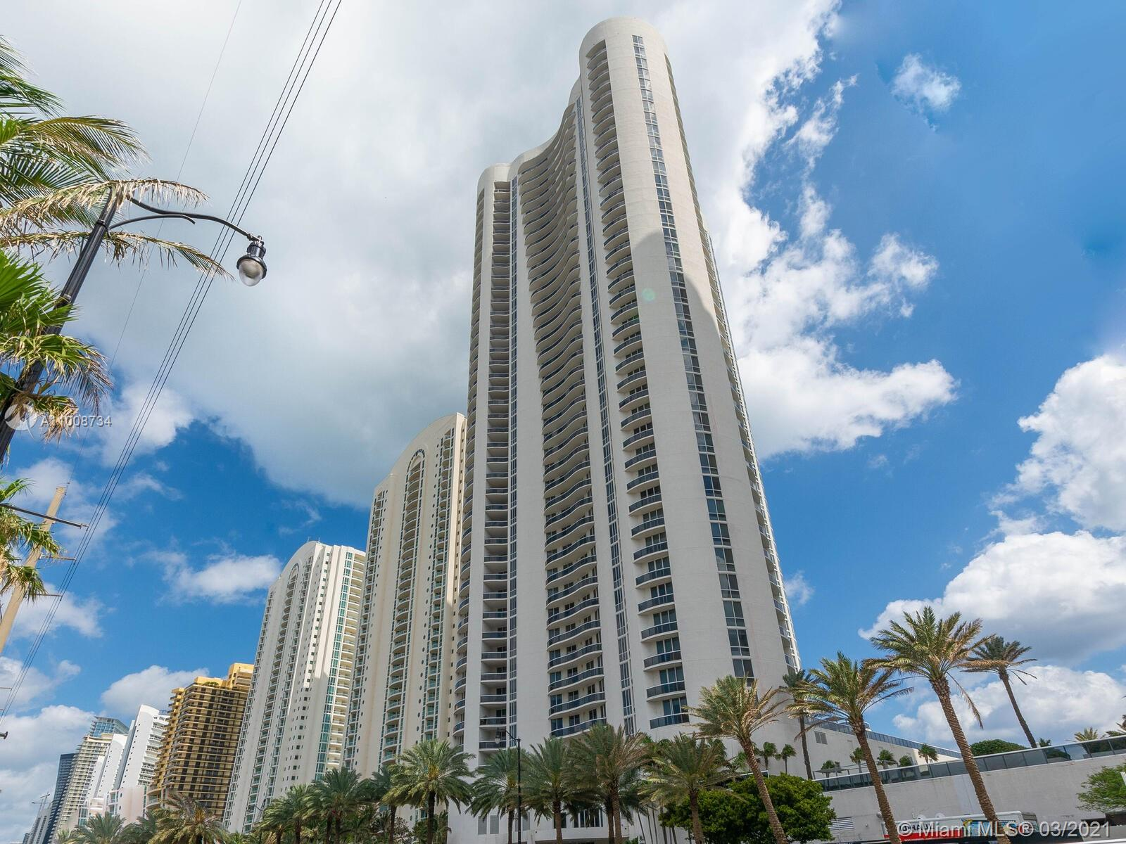You'll love this oceanfront stunning condo located on the 40th floor of Trump Towers 1 in Sunny Isles Beach and a few blocks from Norman S. Edelcup/Sunny Isles Beach K-8 school. This 3-bedroom, 3.5 bathroom turn key condo has 3 balconies—giving you almost 3000 sq. ft. of spacious elegance,marble floors throughout, and a modern gourmet kitchen. Every night, enjoy your wine overlooking the Intracoastal and city, then wake up to a spectacular sunrise over the ocean. All of this situated in a convenient, friendly neighborhood with outstanding schools, minutes from Bal Harbor and Aventura.
