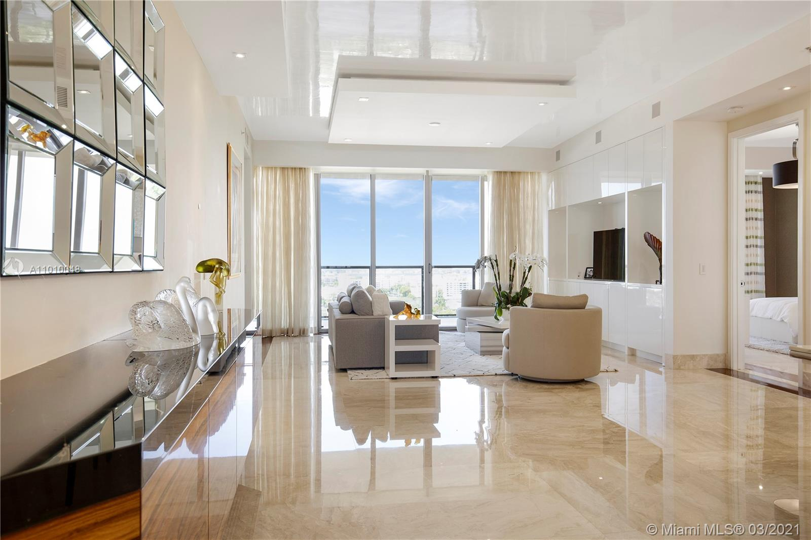 Immaculate oceanfront residence at the iconic St. Regis Bal Harbour now available for those looking for a great investment opportunity. No expense was spared. Exquisitely furnished with attention to detail. This beachfront paradise residence features 3 spacious bedroom plus 3 & 1/2 bathrooms, stunning direct ocean views plus breathtaking sunset views of intracoastal /city skyline. Meticulous designed and high end finishes throughout with top-of-the-line appliances. A true turn-key deal for your most discerning client. Tenant occupied. Best deal at St. Regis! Easy to show-please see broker's remarks. Click on the virtual tour link for a tridimensional view. See Broker's remarks for showing instructions.