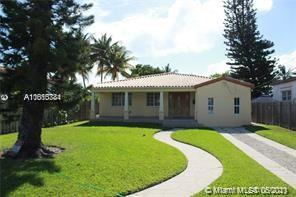 Beautiful remodeled oceanfront home made with great craftsmanship a few blocks from the beach. This 3 bed 3 bath is a hidden gem that overlooks the canal, and is minutes from the bay with no fixed bridges.  This country feel home has that cozy feeling, perfect for relaxing in the clawfoot tub, or on the patio lying on a hammock enjoying the beautiful Miami weather. This house is not only for relaxing but also for enjoying family / friends around the updated kitchen with a deep cooper sink with granite cabinets and a large island that gives pleasure to entertain. On a large lot with plenty of driveway parking for you and your guest. Tenant Occupied until June. Please do not disturb tenants.  Call for showings.