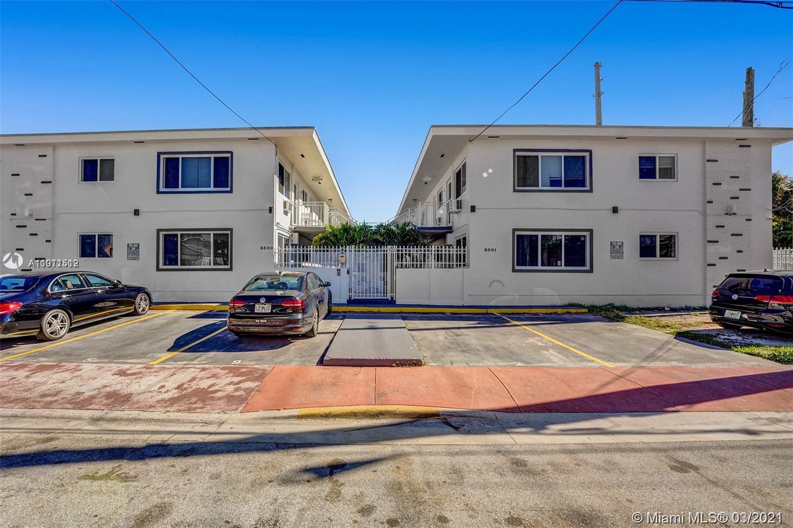 Apt by the water. New impact windows & air-con units. 2 bed, 2 full bath. Boat deck/granite kitchen counters/wood cabinetry/washer/dryer/tiled floors. Great for investors.