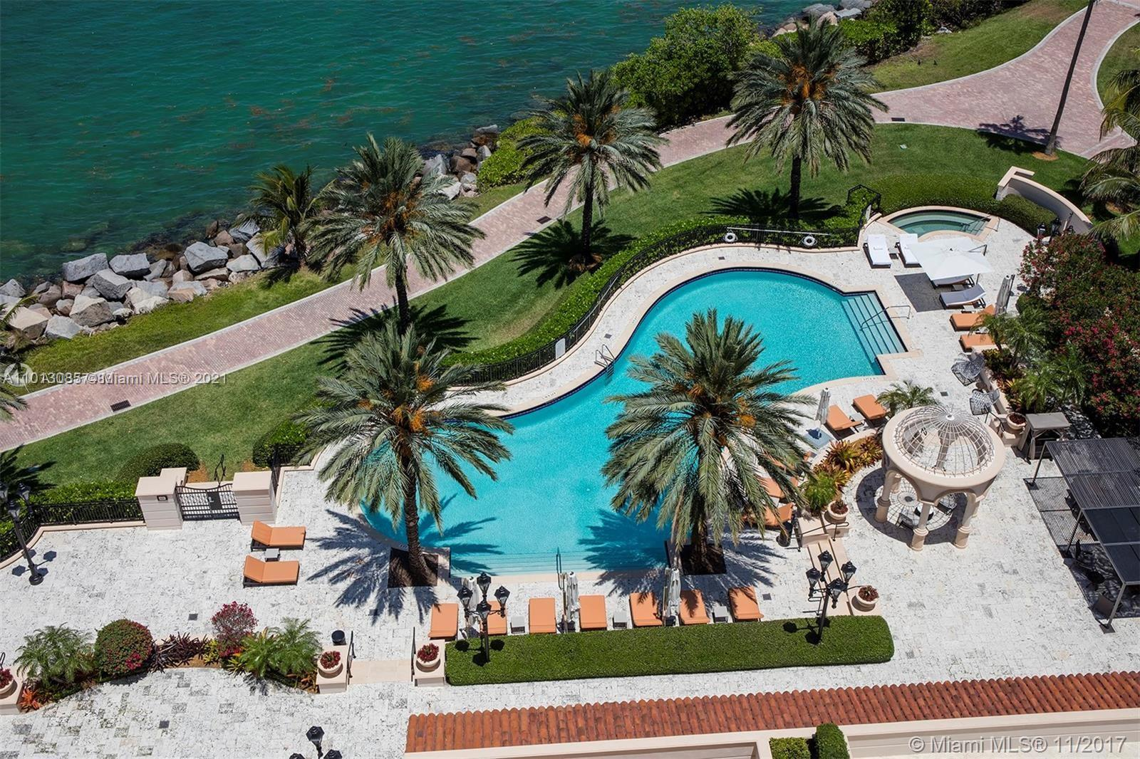 7102  Fisher Island Dr #7102 For Sale A11013085, FL