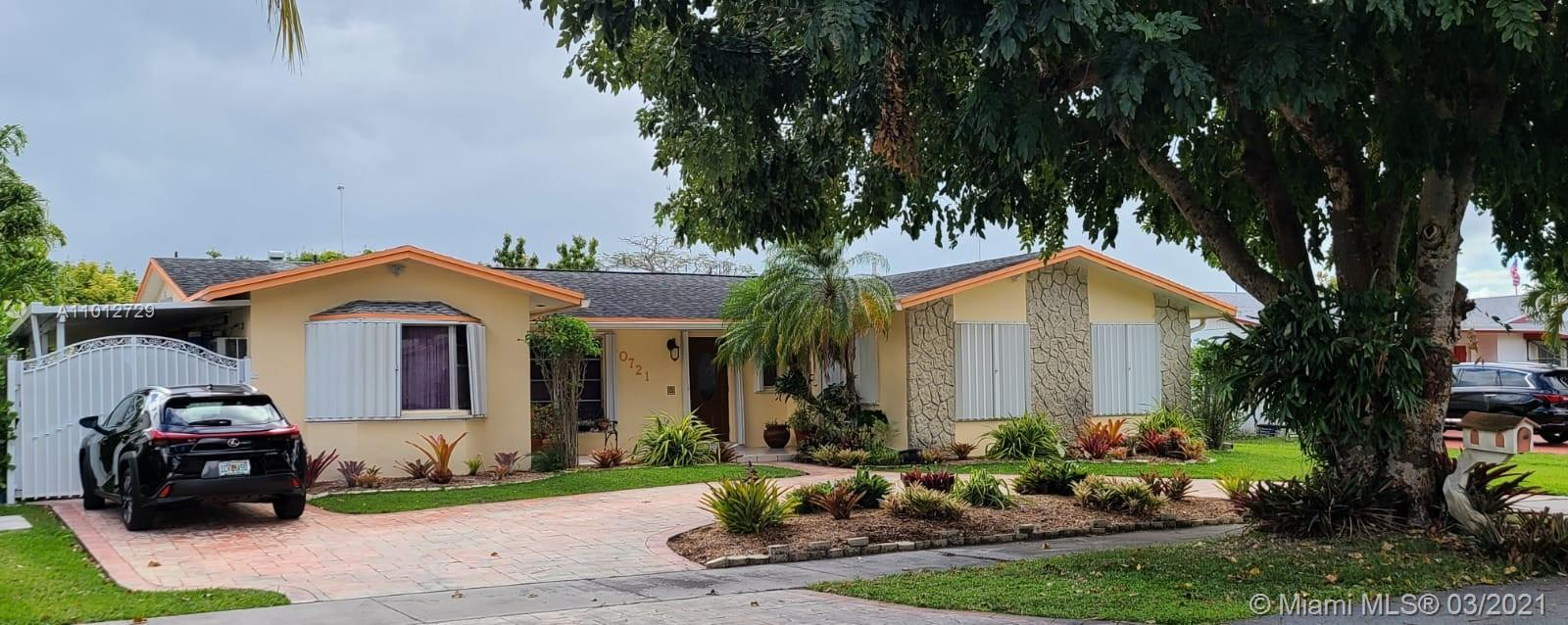 10721 SW 120th Ave  For Sale A11012729, FL