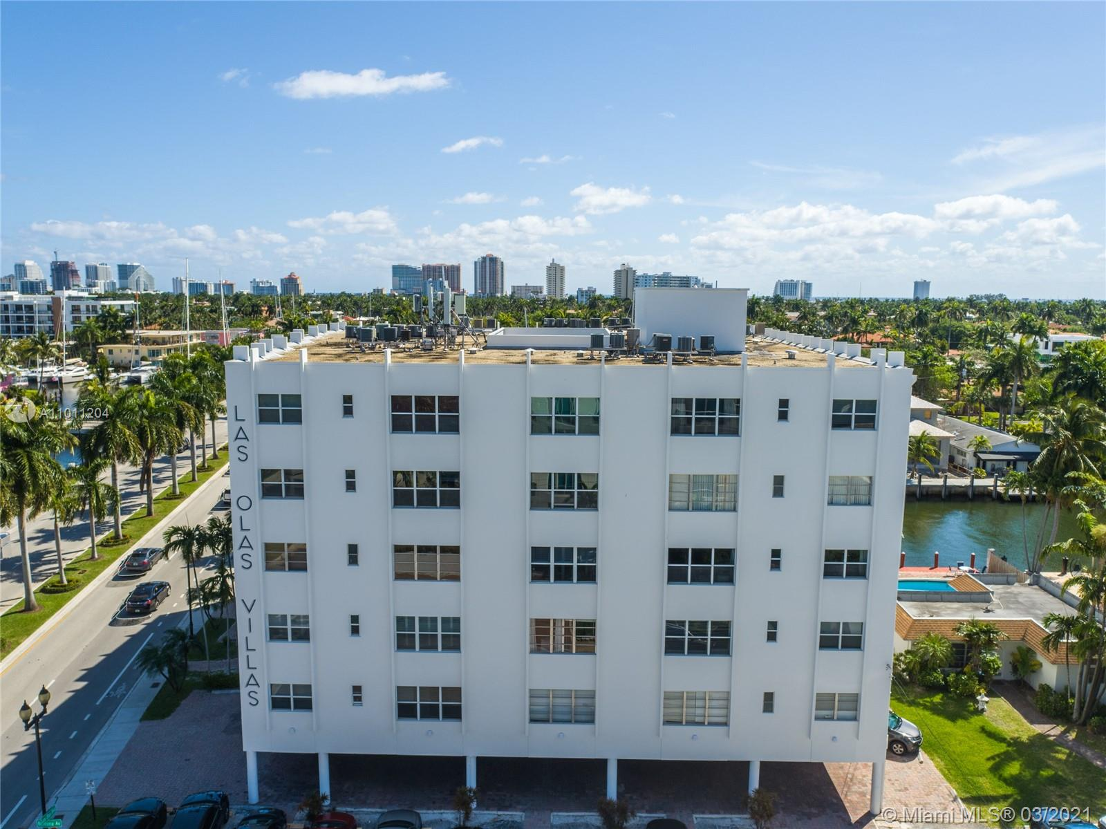 Great location! Walk to the beach for some sun and then stroll down Las Olas at night for food and fun! This 1/1 is nicely updated and in a rarely available, well-managed, low fee complex of just 40 units. There is a pool, grilling area, bike storage area, and dock area for resident's use. Unit comes with 1 assigned parking spot.